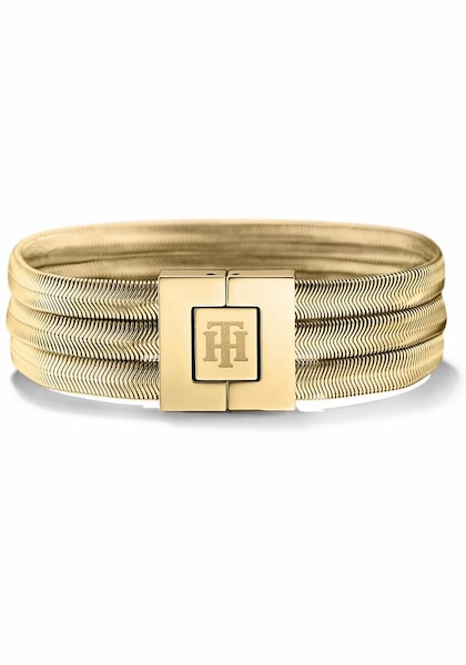 Armbaender für Frauen - TOMMY HILFIGER Armband 'Classic Signature, 2700976' gold  - Onlineshop ABOUT YOU
