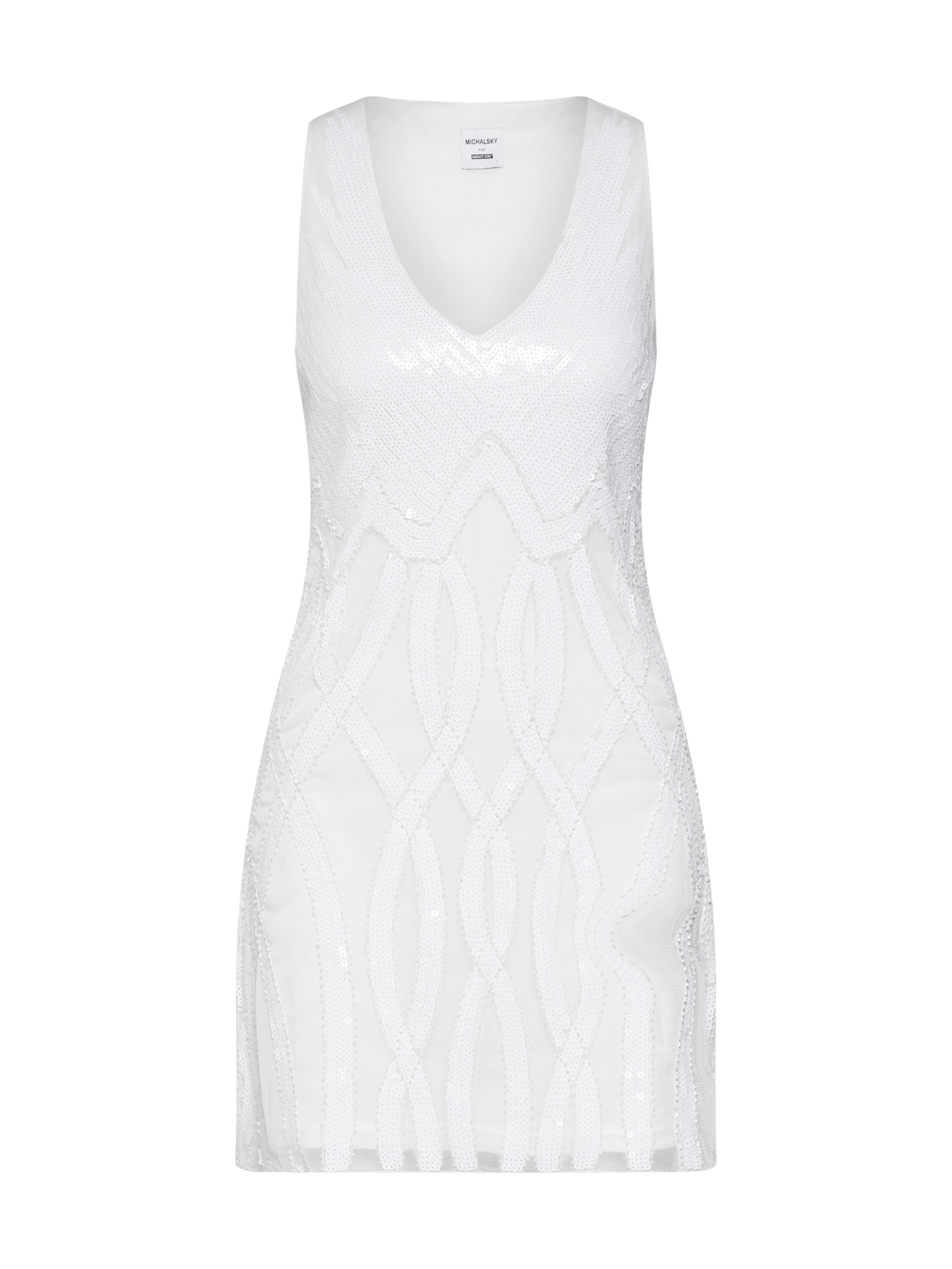 Koktejlové šaty Anneke bílá MICHALSKY FOR ABOUT YOU