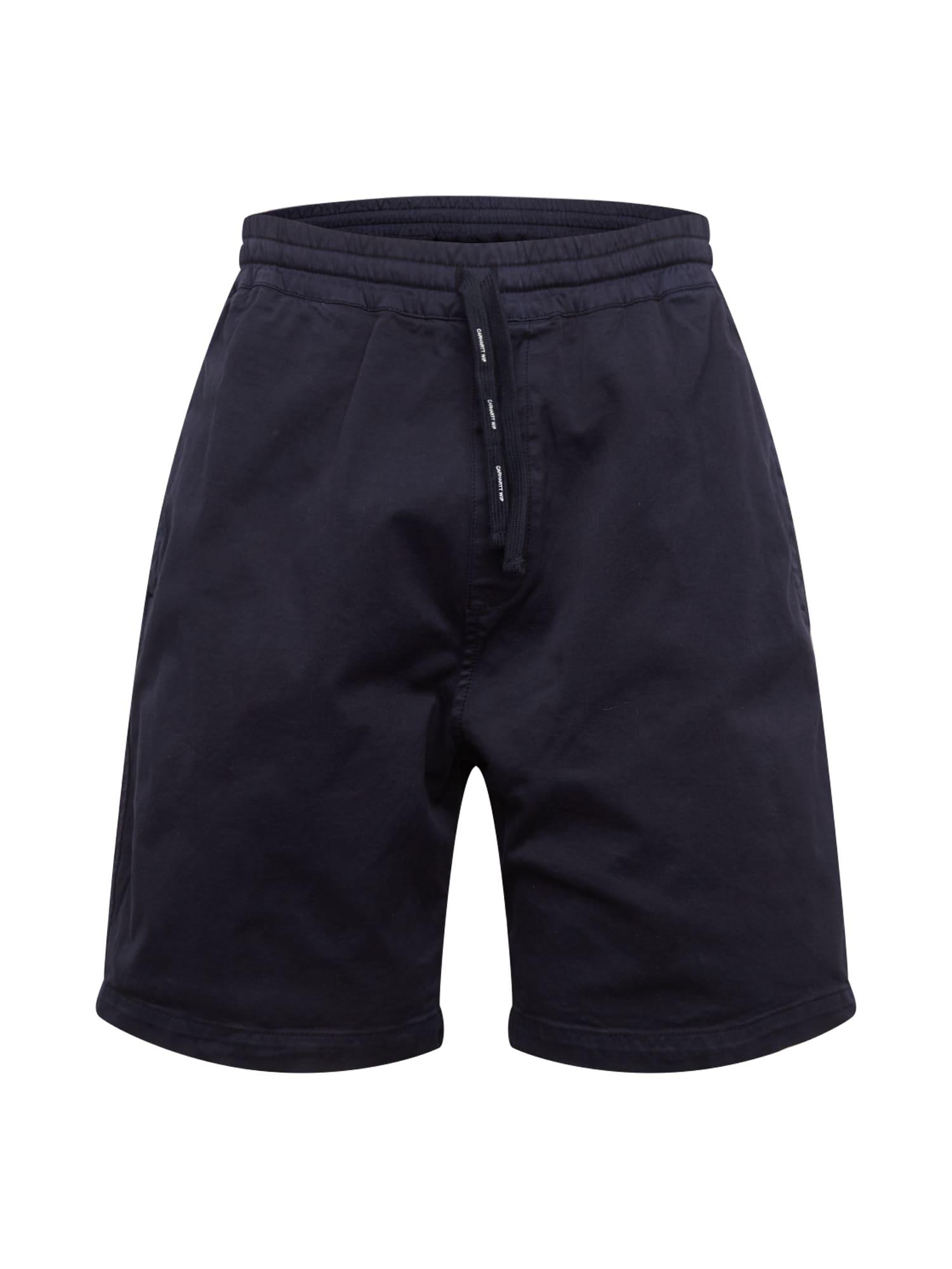 Carhartt WIP Kelnės 'Lawton' tamsiai mėlyna