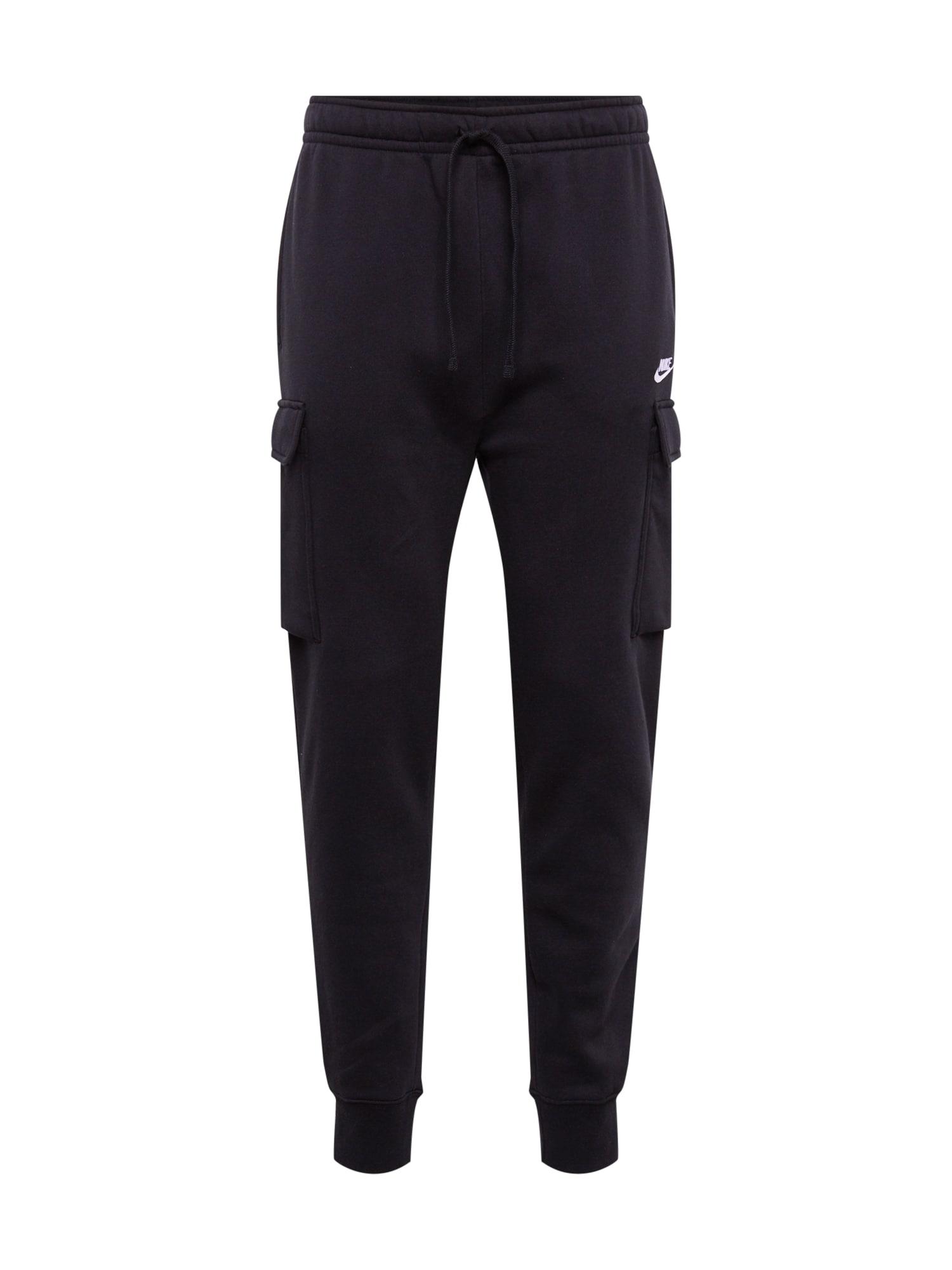 Nike Sportswear Kapsáče 'M NSW CLUB PANT CARGO BB'  čierna