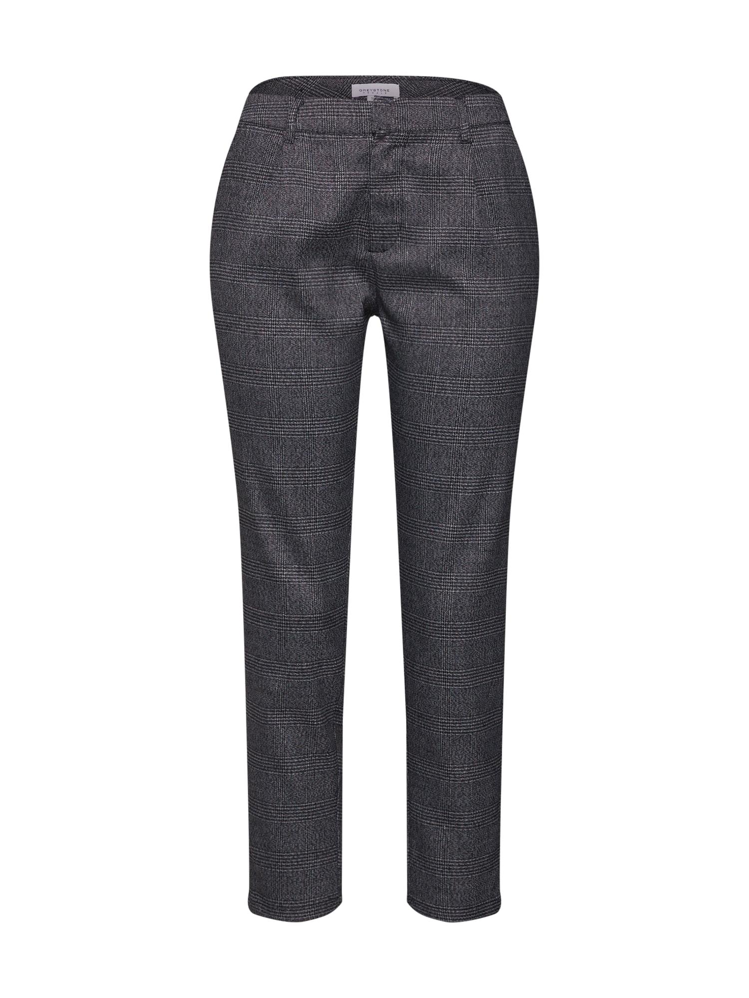 Kalhoty antracitová černá GREYSTONE