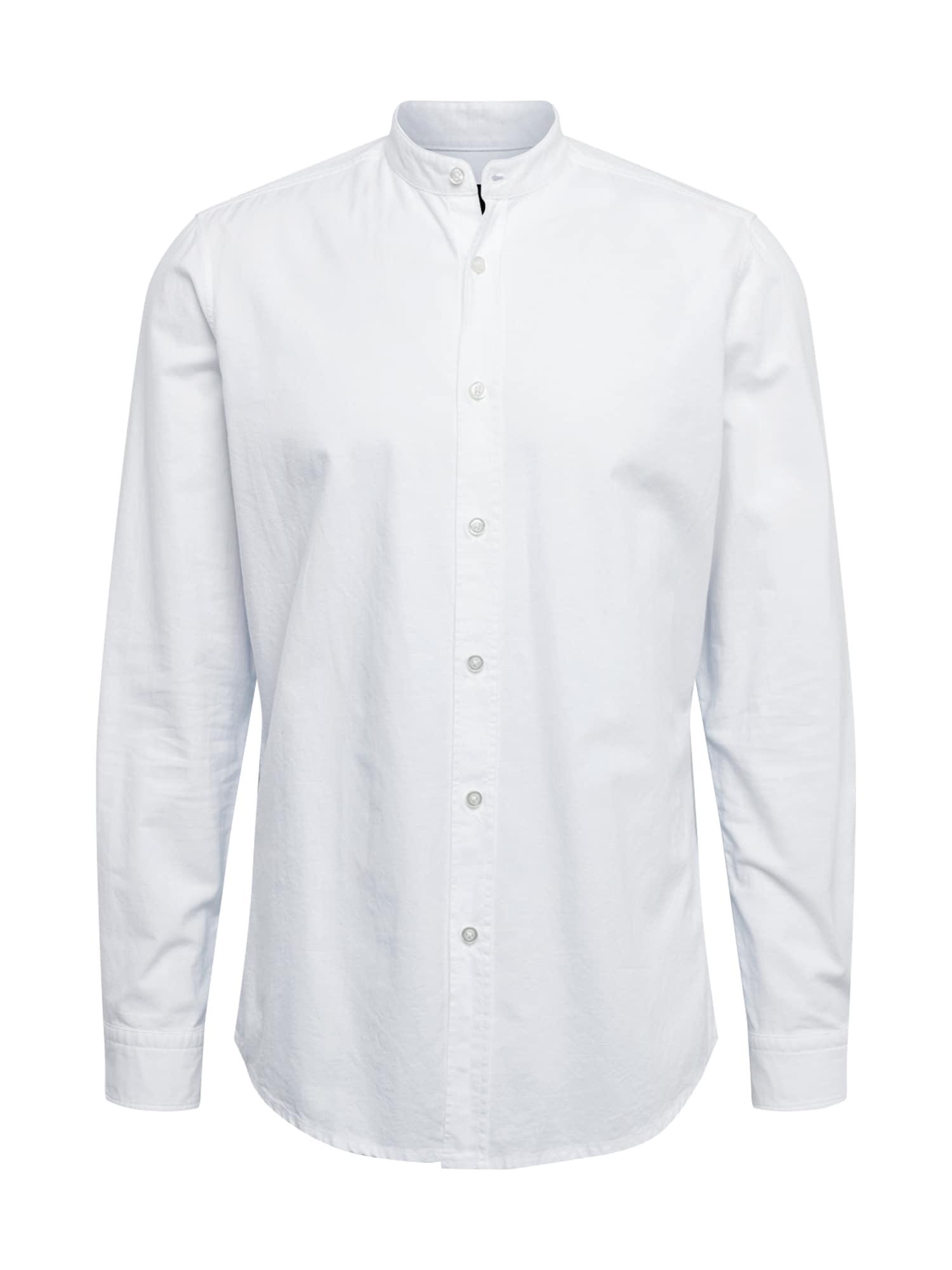 BOSS Dalykiniai marškiniai 'Race' balta