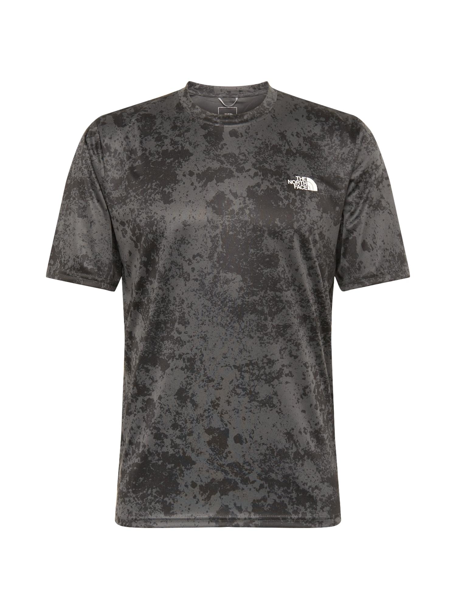 THE NORTH FACE Funkční tričko  černá / tmavě šedá