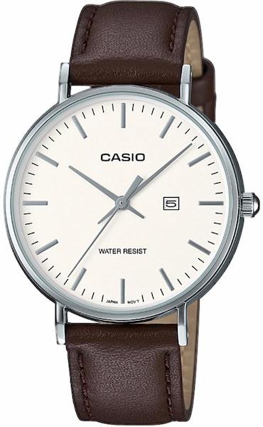 Uhren für Frauen - CASIO Collection Quarzuhr 'LTH 1060L 7AER' dunkelbraun silber  - Onlineshop ABOUT YOU