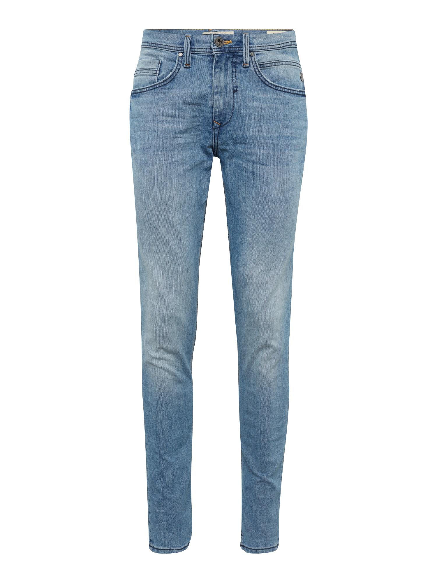 BLEND Džinsai 'Twister Slim Straight' tamsiai (džinso) mėlyna