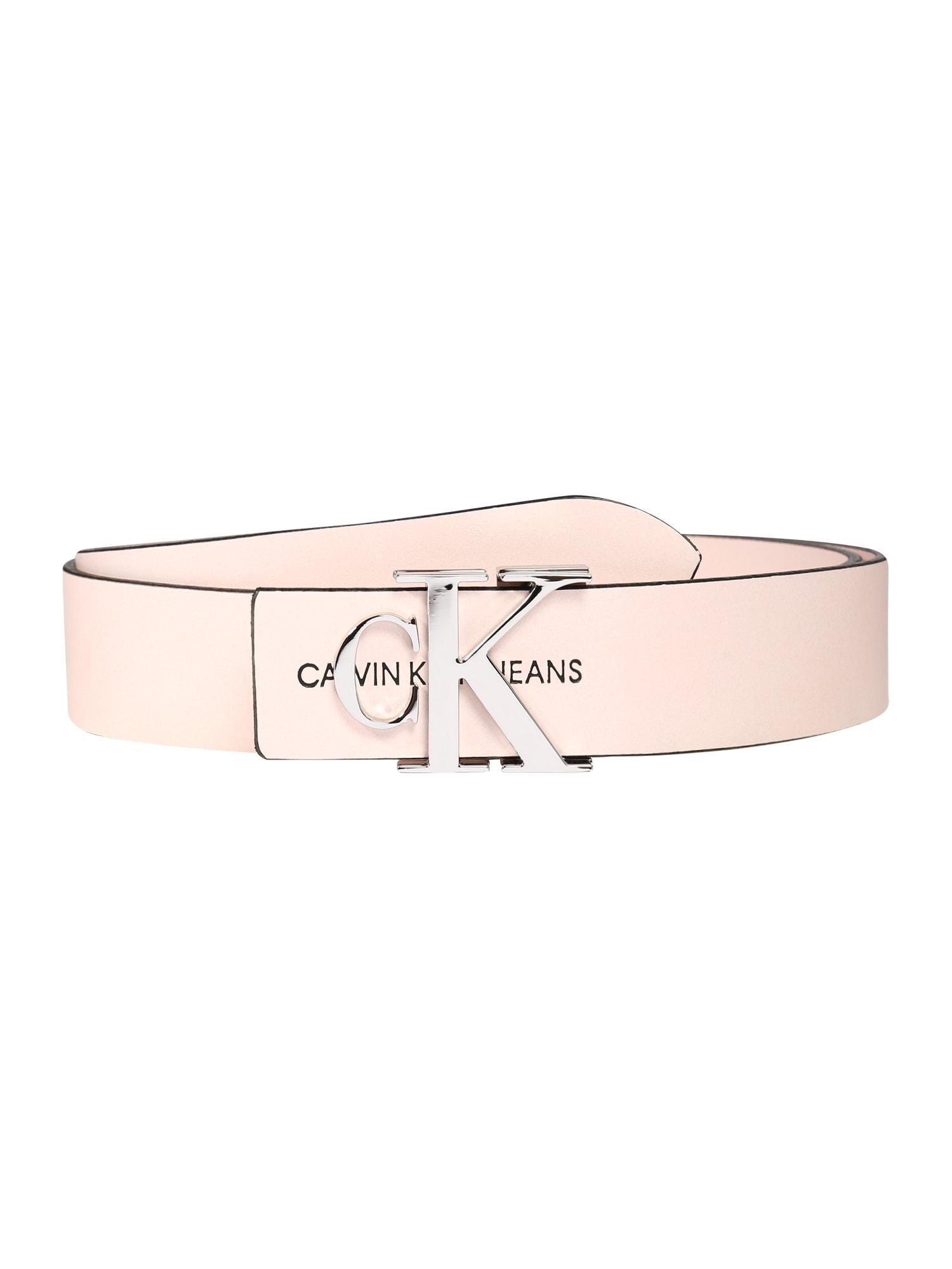 Calvin Klein Opasky 'CKJ MONO HARDWARE 30MM'  ružová