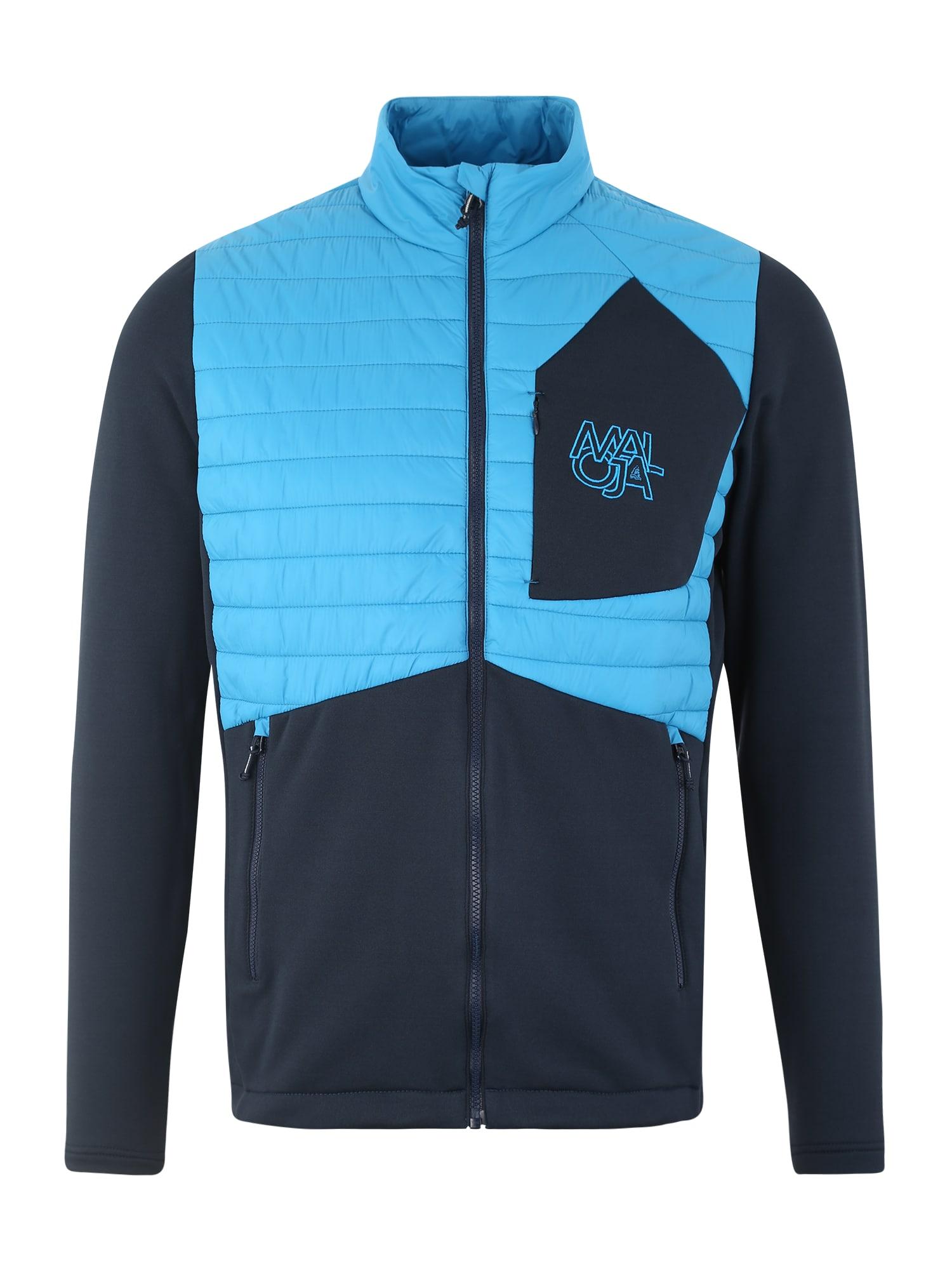Maloja Sportinė striukė 'Poz M.' šviesiai mėlyna / tamsiai mėlyna