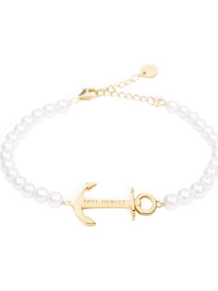 Armbaender für Frauen - Paul Hewitt Armband gold perlweiß  - Onlineshop ABOUT YOU