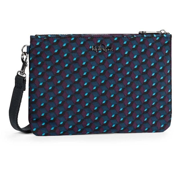 Clutches für Frauen - KIPLING Handgelenktasche blau indigo hellblau schwarz  - Onlineshop ABOUT YOU