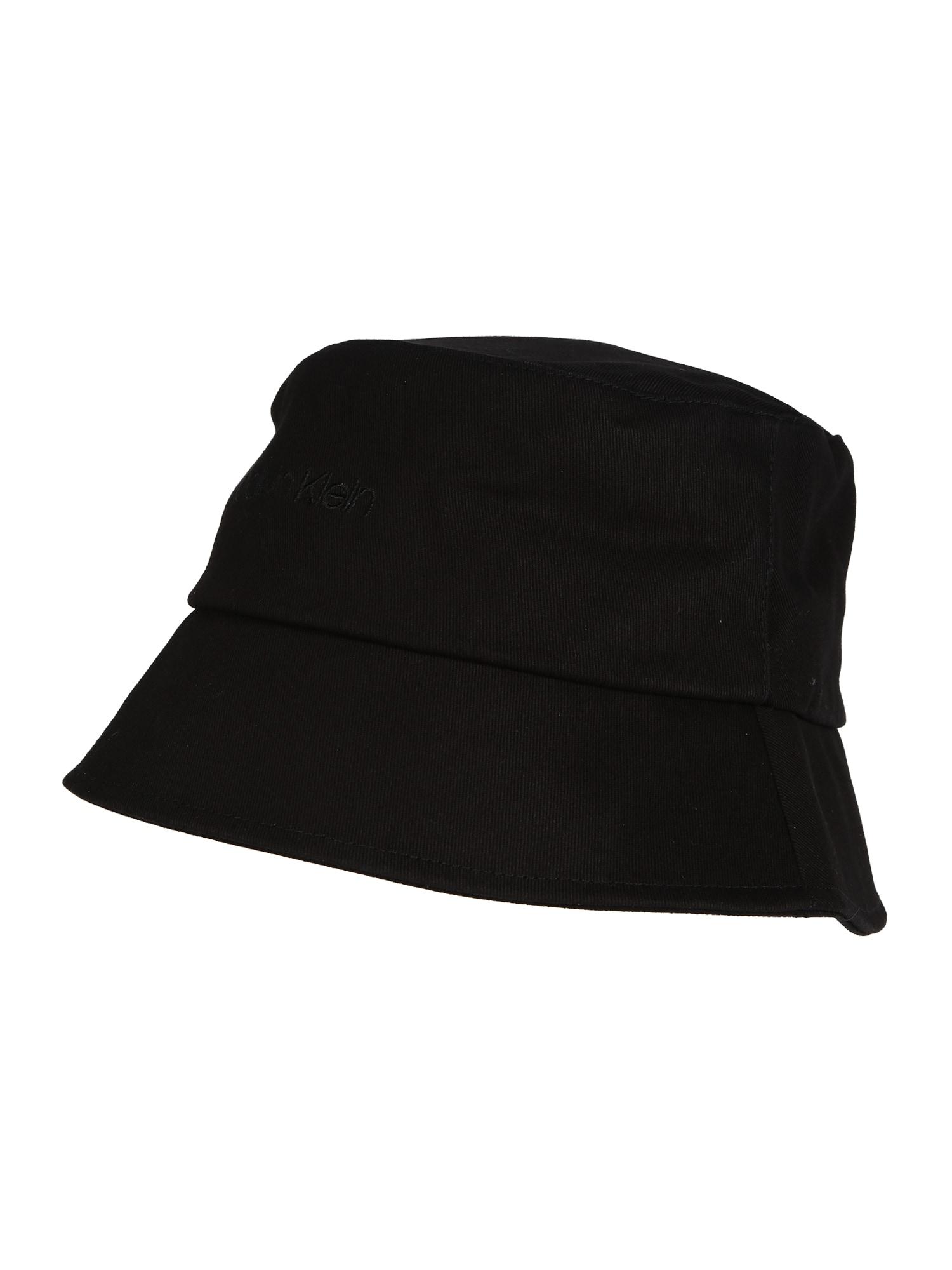 Calvin Klein Megzta kepurė juoda