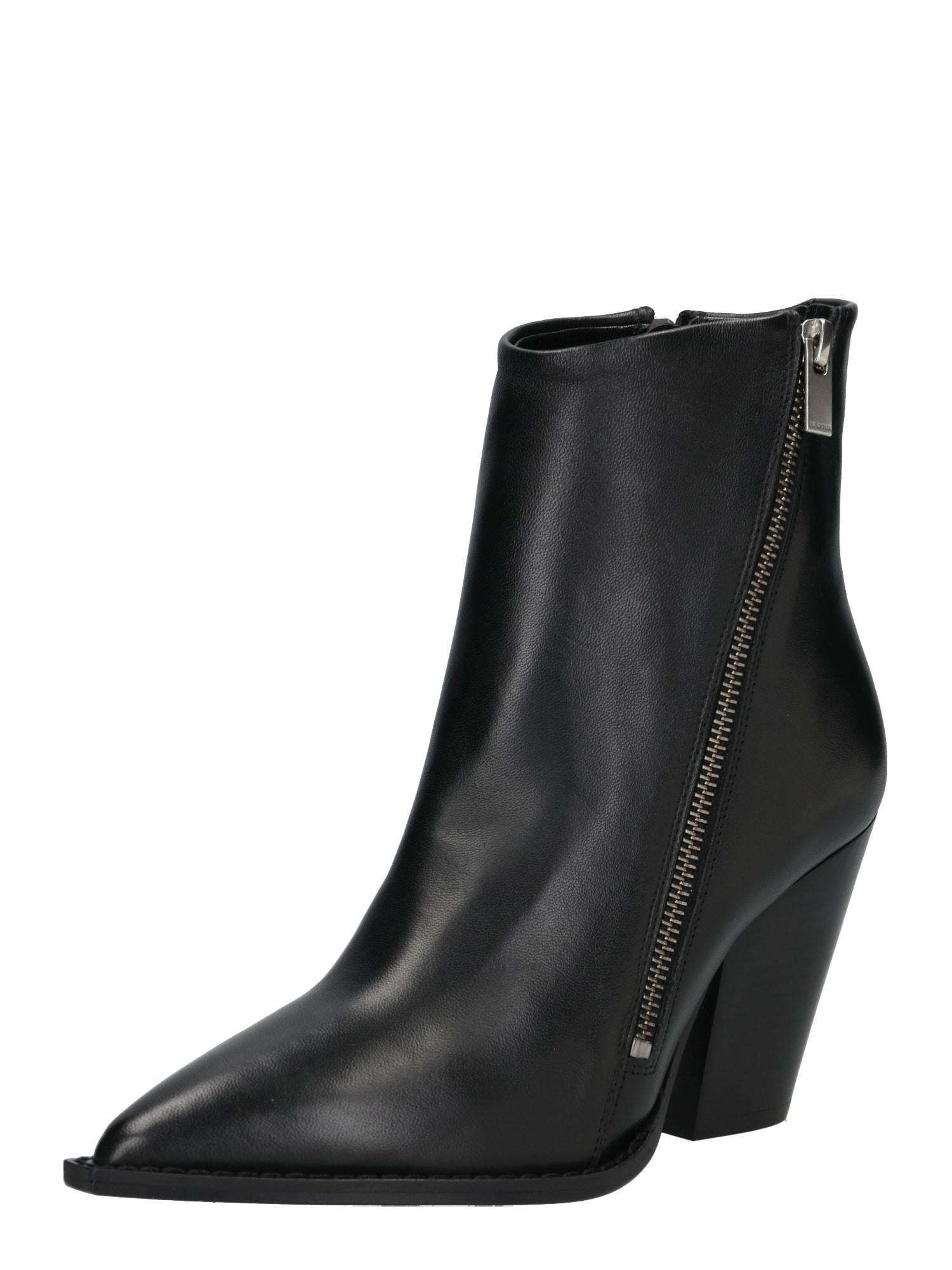 Kotníkové boty AFCH19005K černá The Kooples