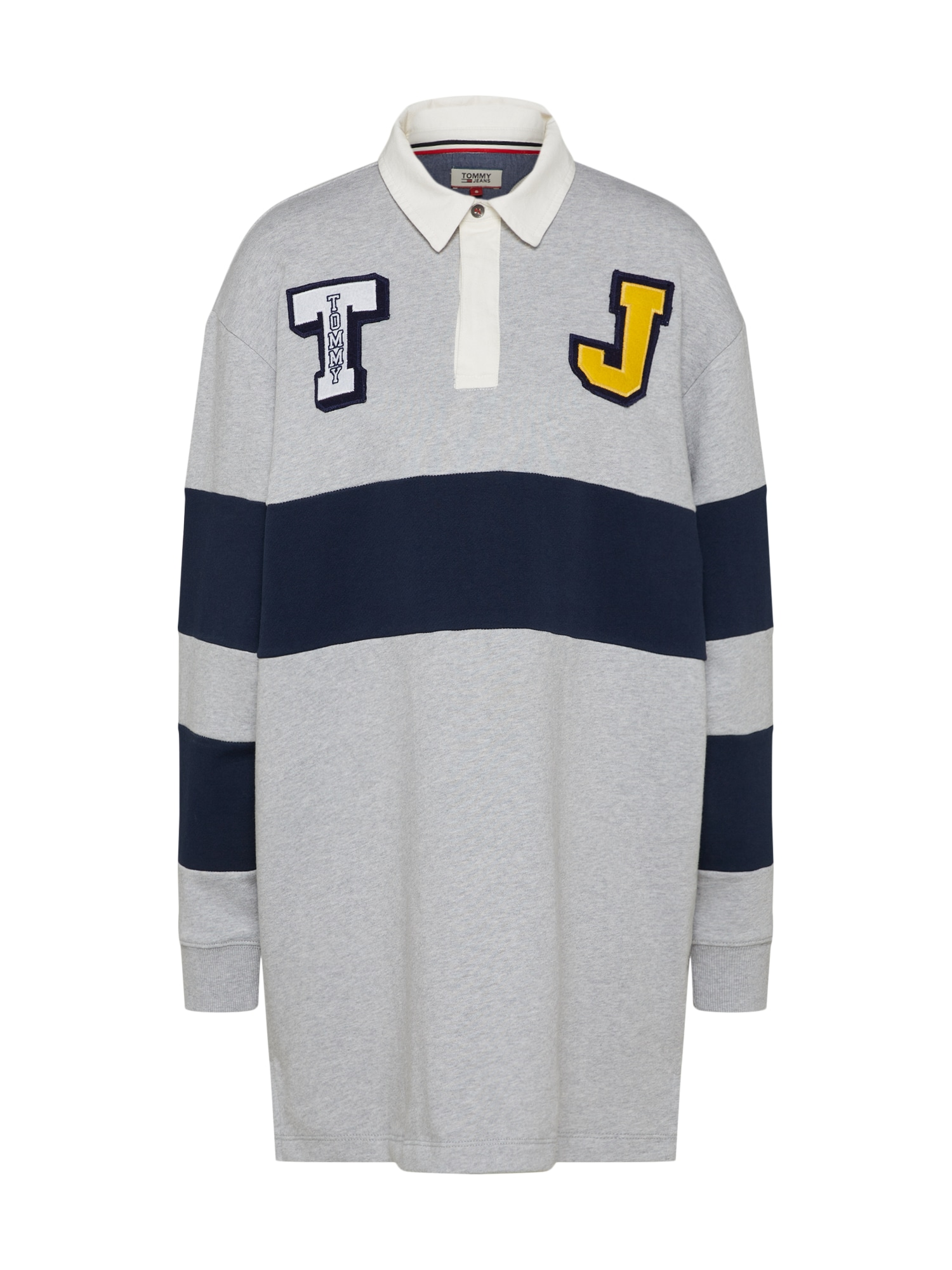 Šaty TJW RUGBY DRESS světle šedá Tommy Jeans