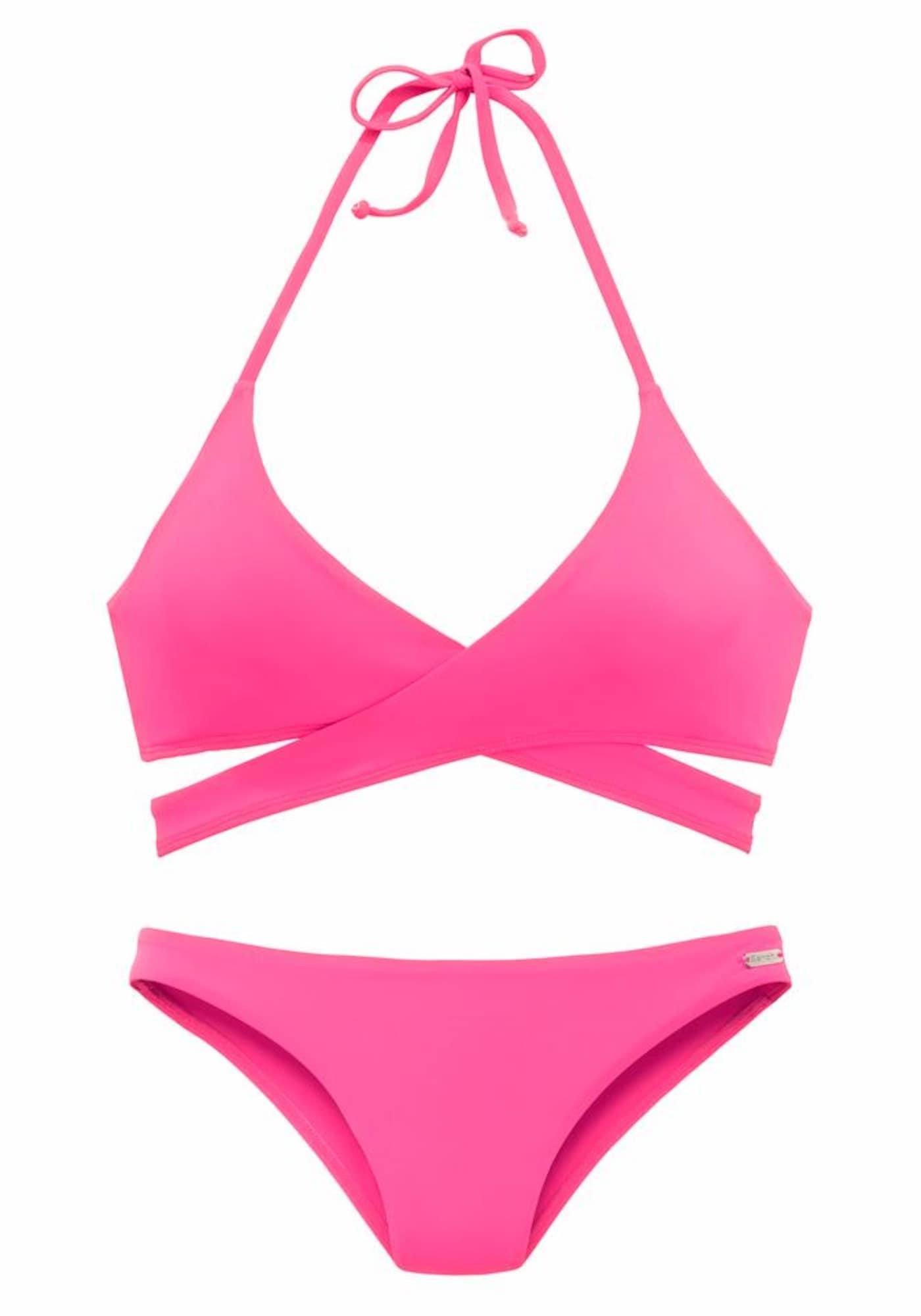 BENCH Bikinis rožinė
