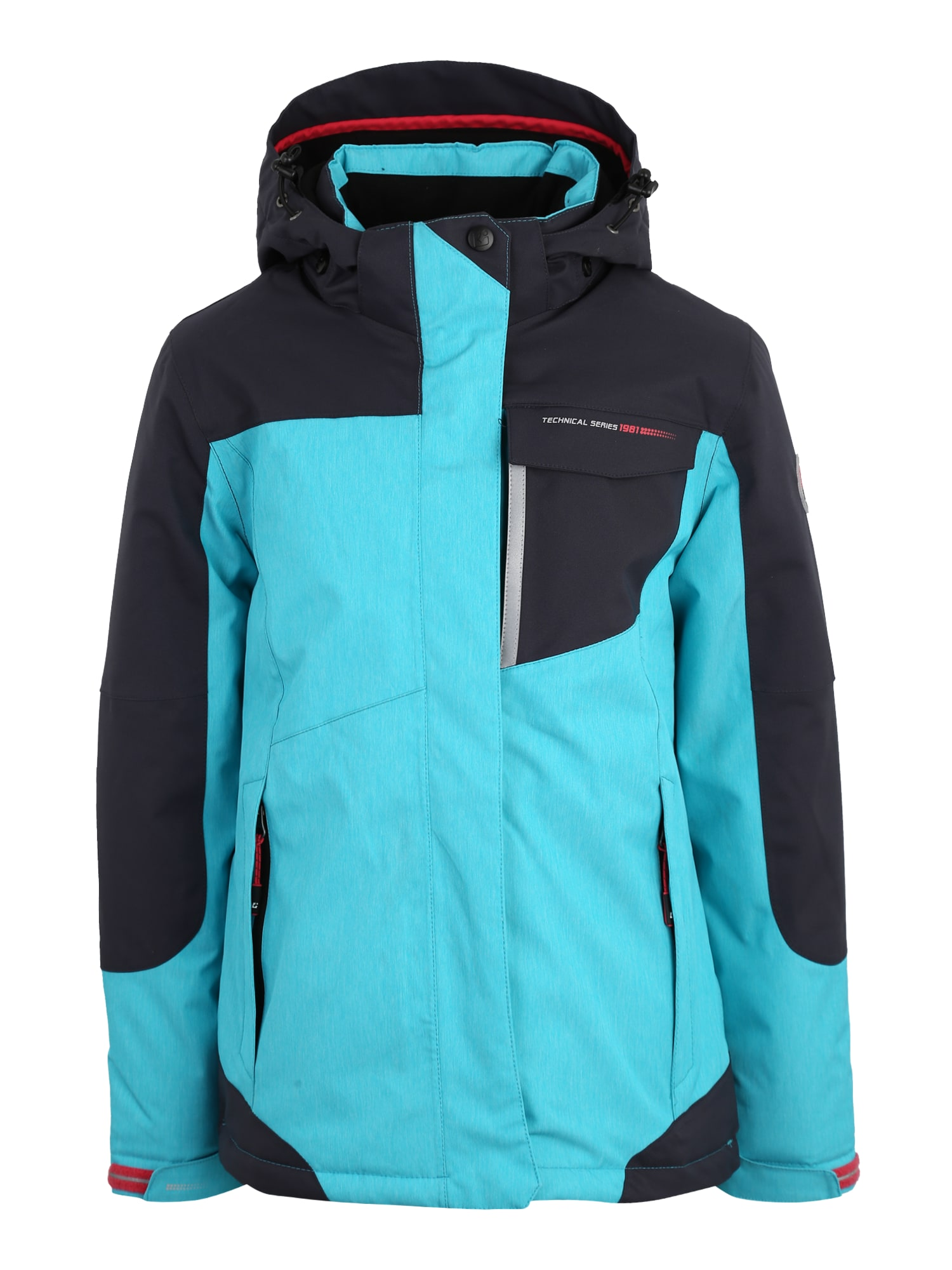 Outdoorová bunda Nailah kobaltová modř aqua modrá KILLTEC