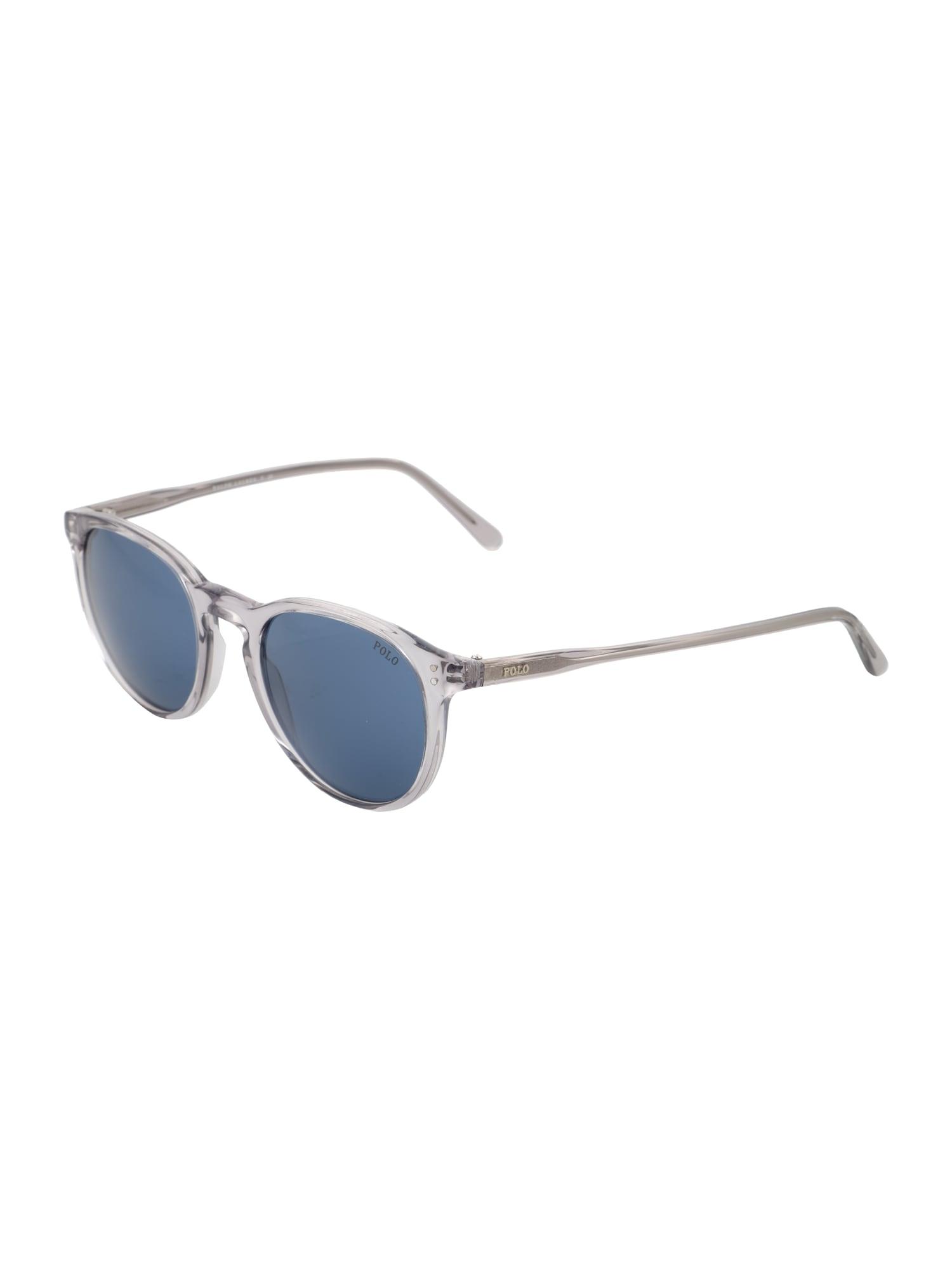 POLO RALPH LAUREN Ochelari de soare  albastru / gri / transparent