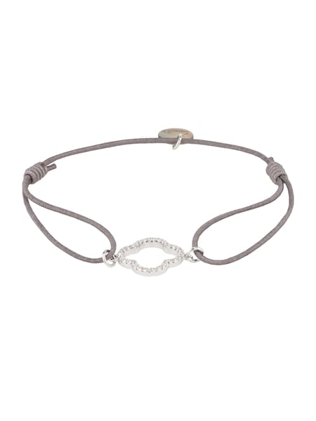 Armbaender für Frauen - Lua Accessories Armband 'Floris' grau  - Onlineshop ABOUT YOU