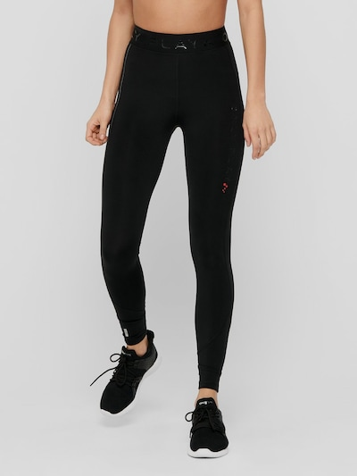 Only Play Performance Sportleggings mit hoher Taille