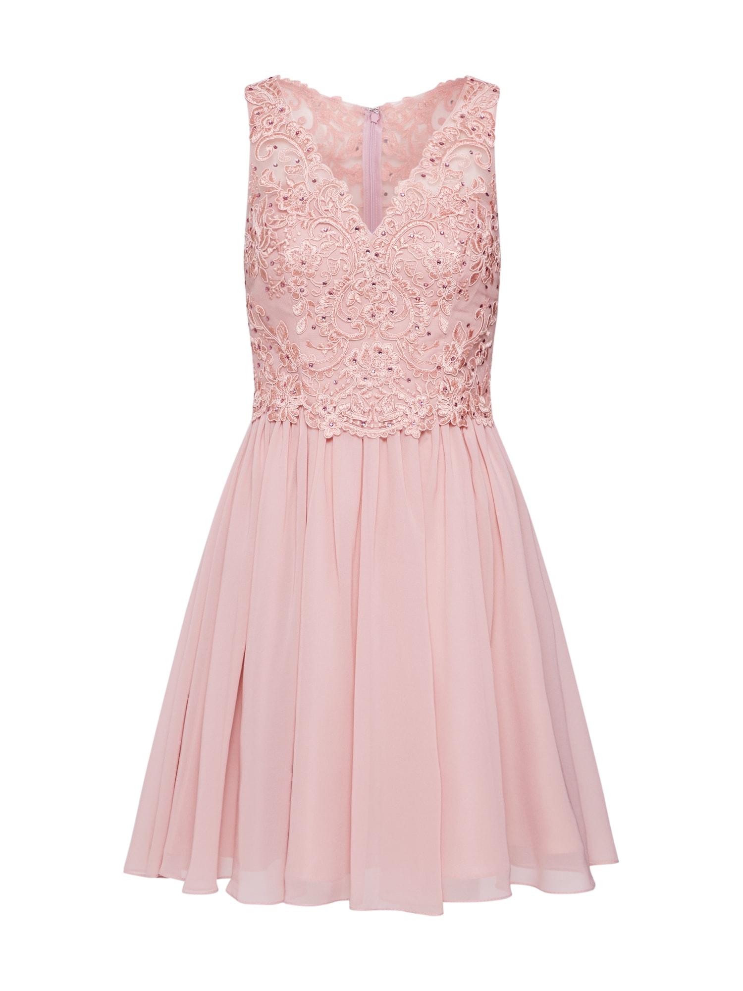 Laona Kokteilinė suknelė rožinė / rausvai violetinė spalva