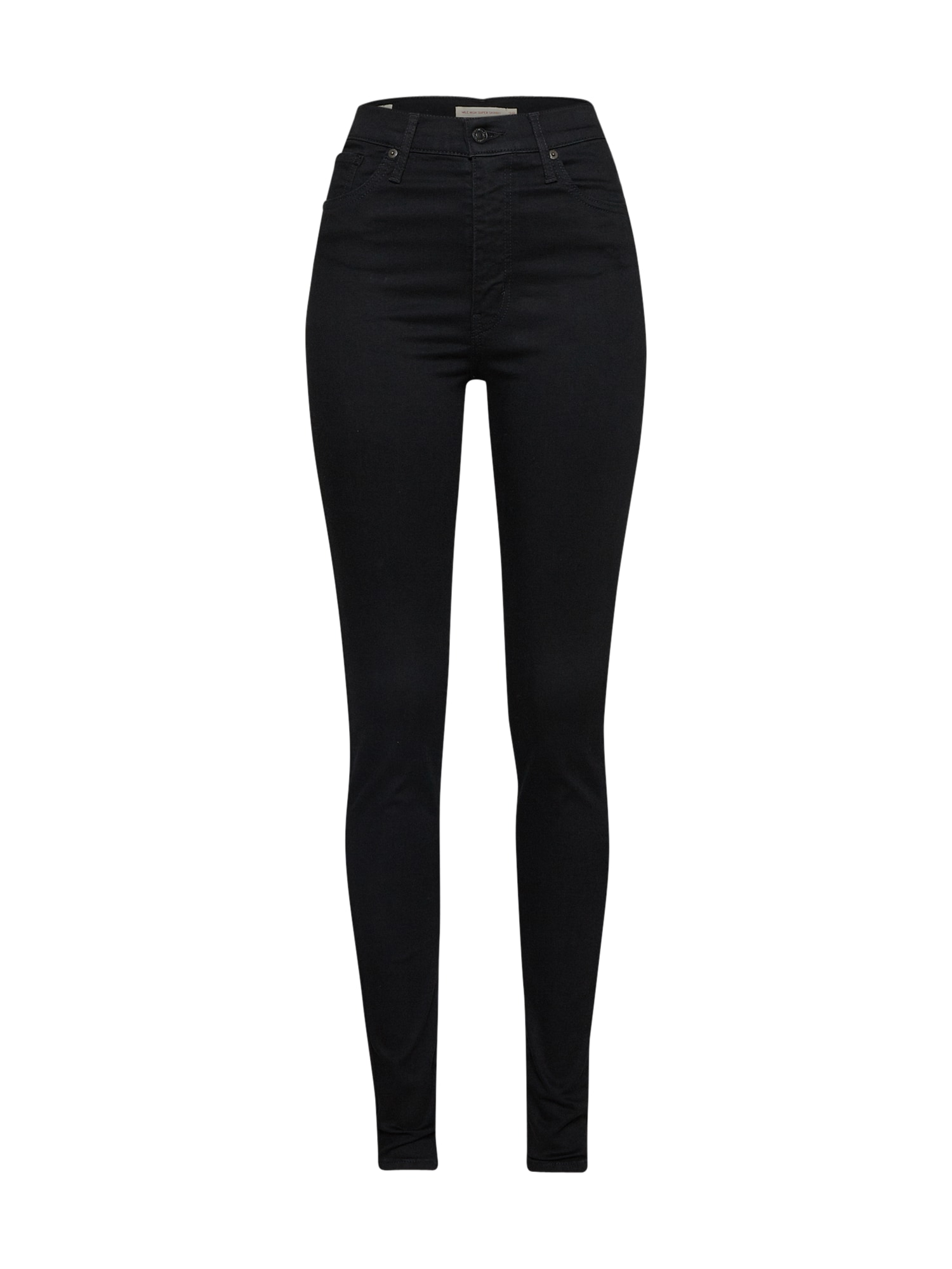 LEVI'S Džínsy 'MILE HIGH Super Skinny'  čierna.