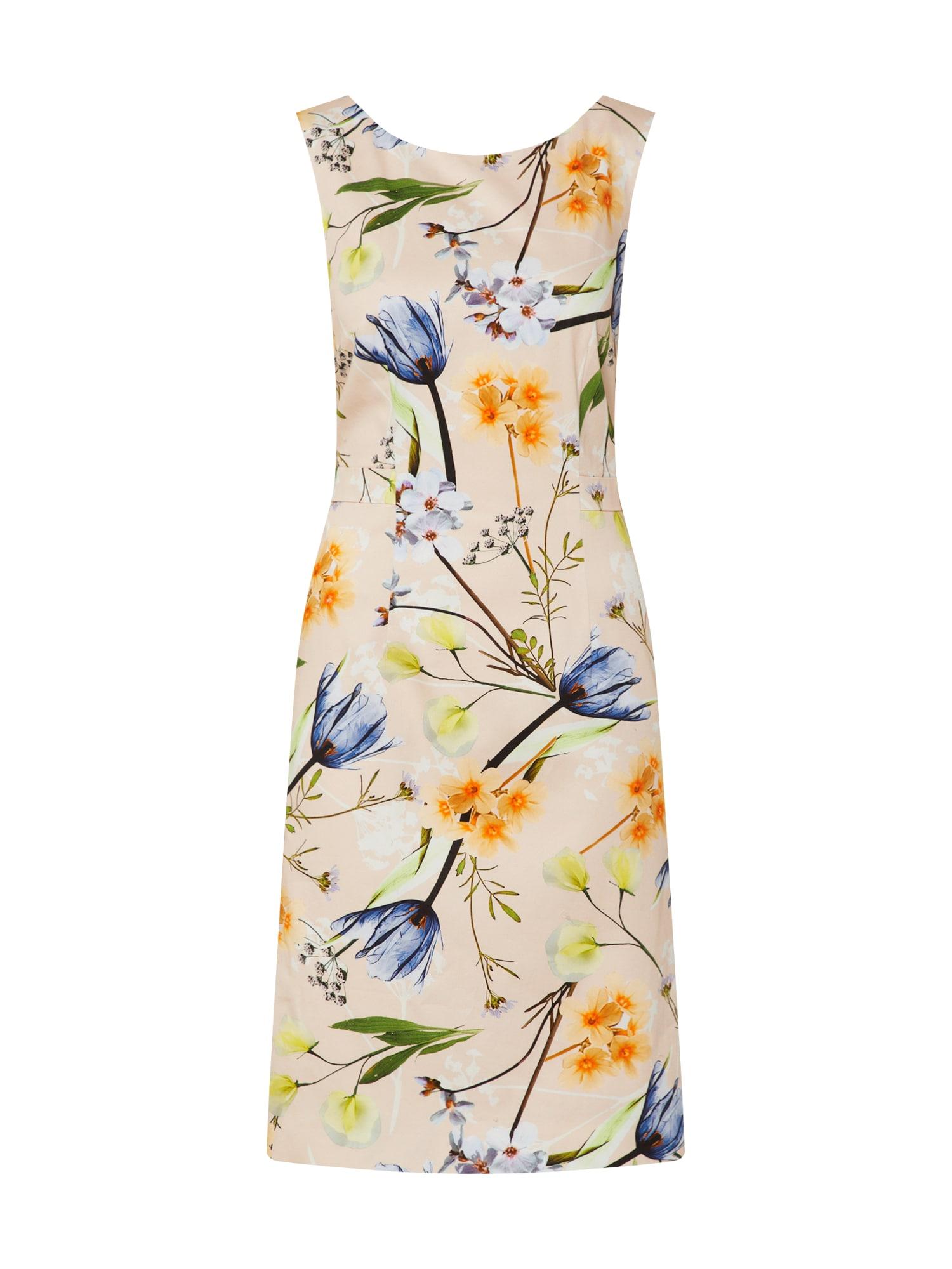 COMMA Vasarinė suknelė mišrios spalvos