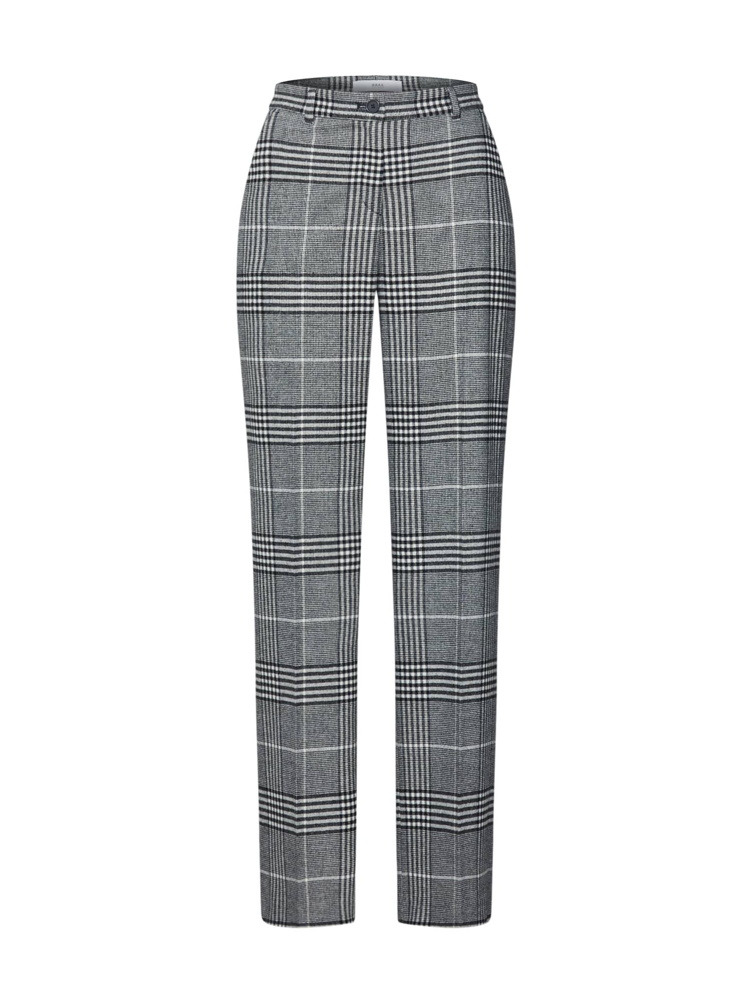 BRAX Kelnės su kantu 'MAINE' pilka
