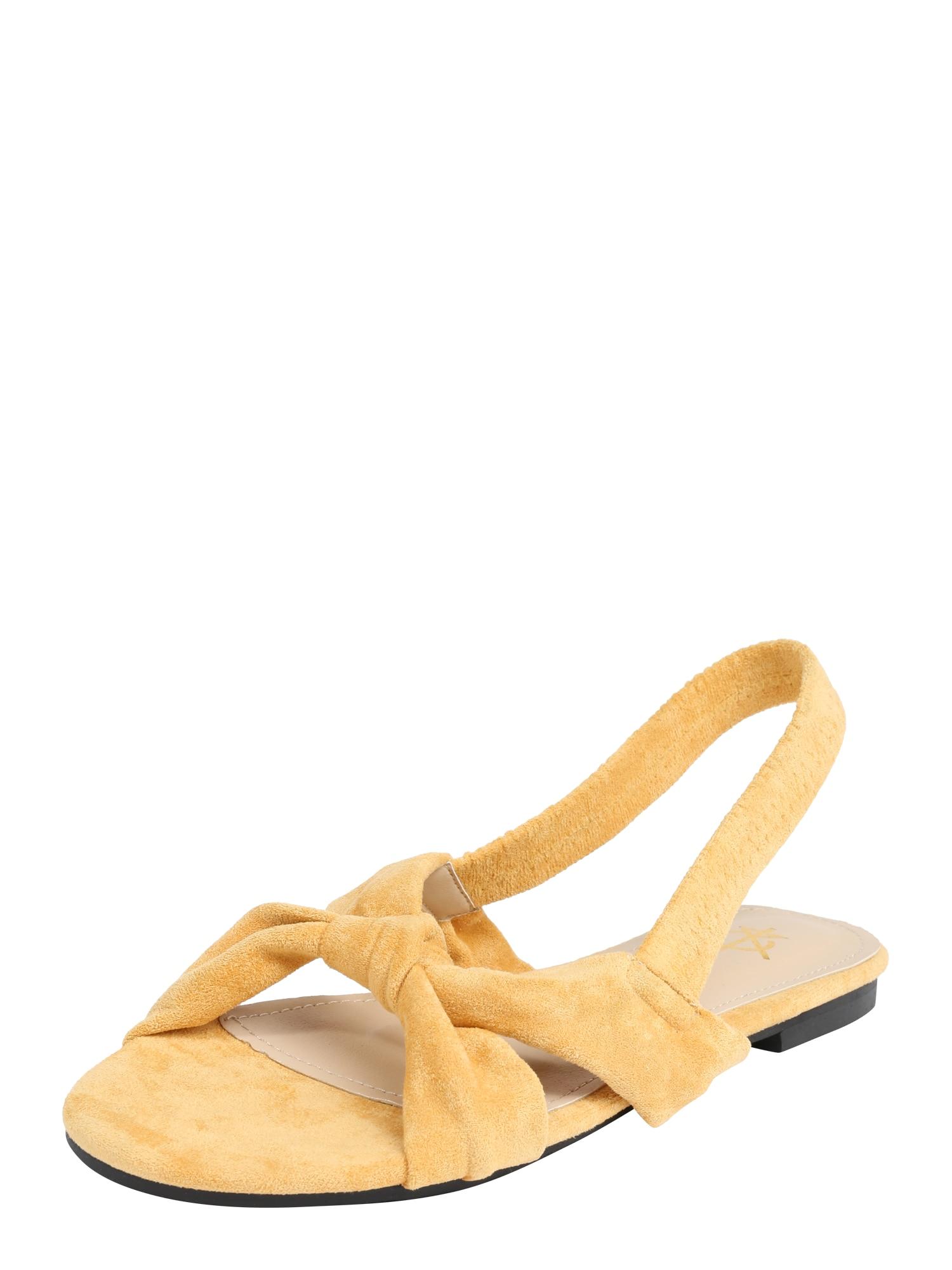 Sandály TARA žlutá 4th & Reckless