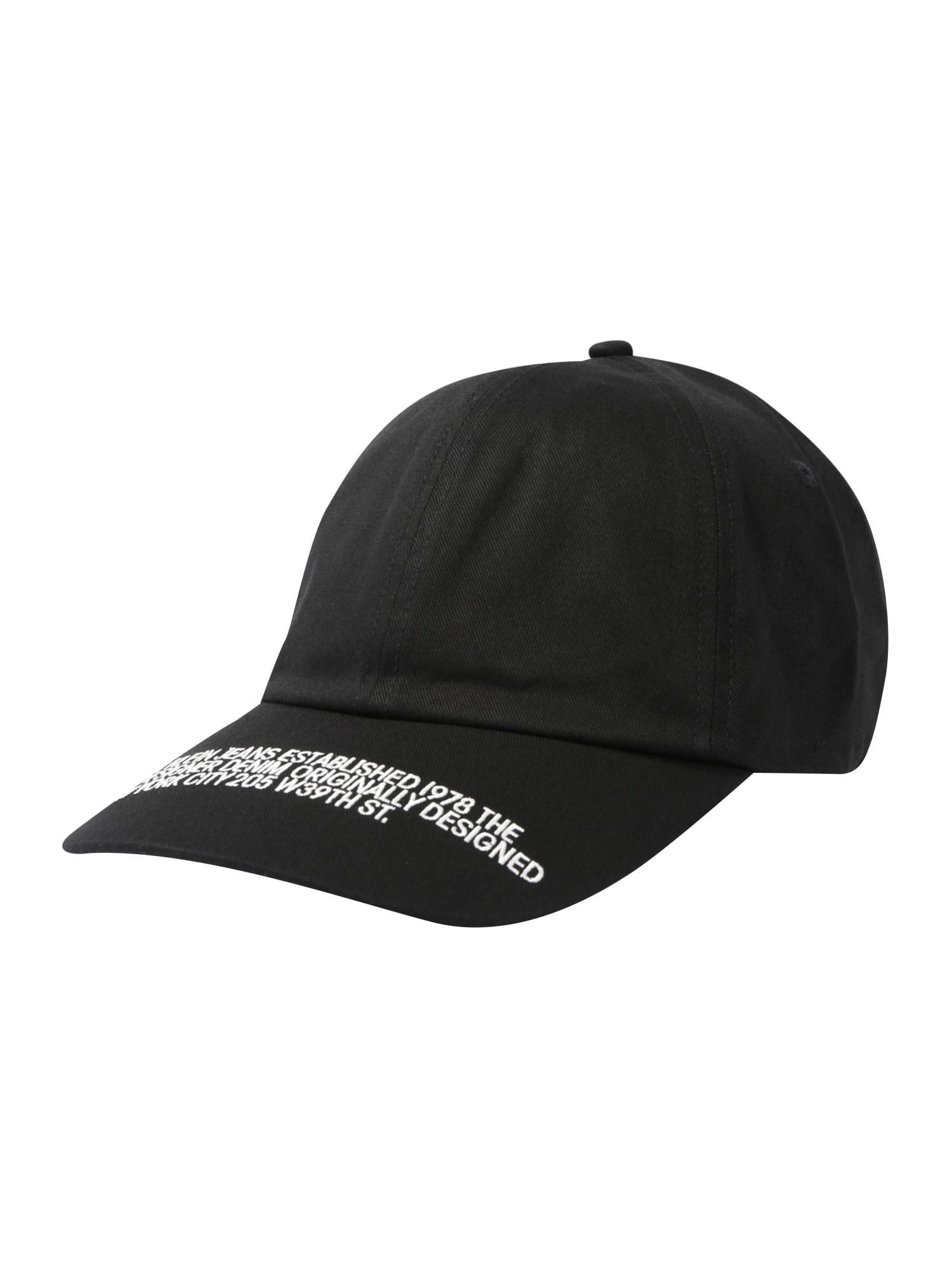 Calvin Klein Jeans Čiapka 'Webbing'  čierna