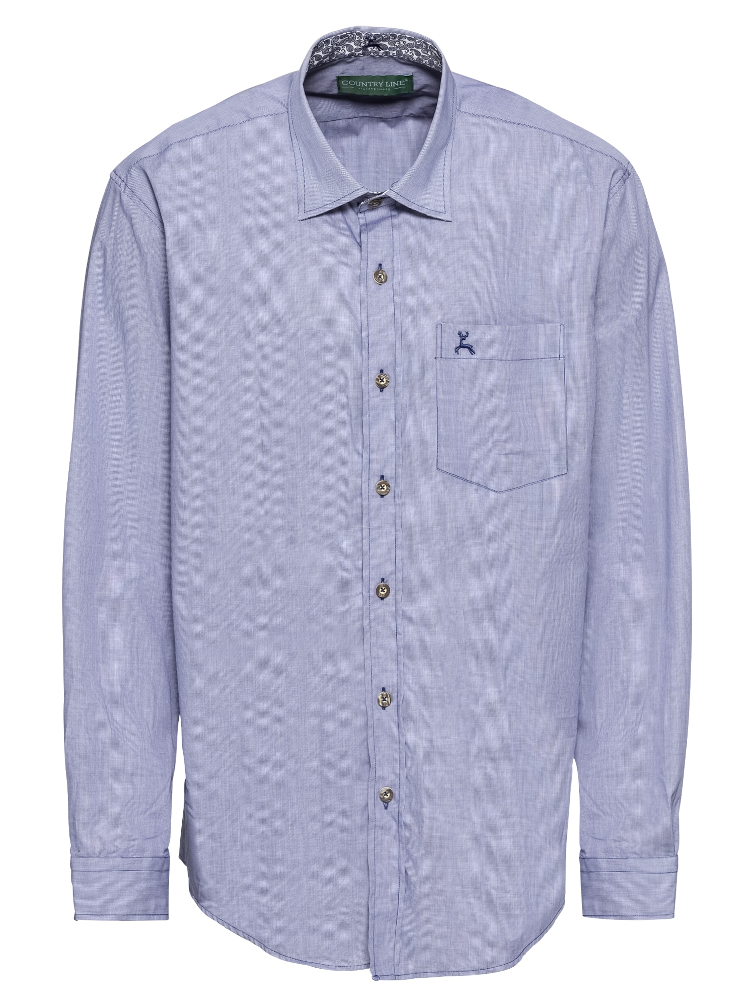 COUNTRY LINE Tradiciniai marškiniai mėlyna