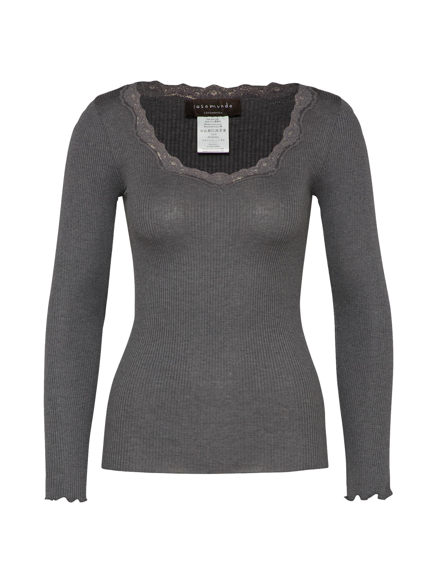 rosemunde Marškinėliai tamsiai pilka