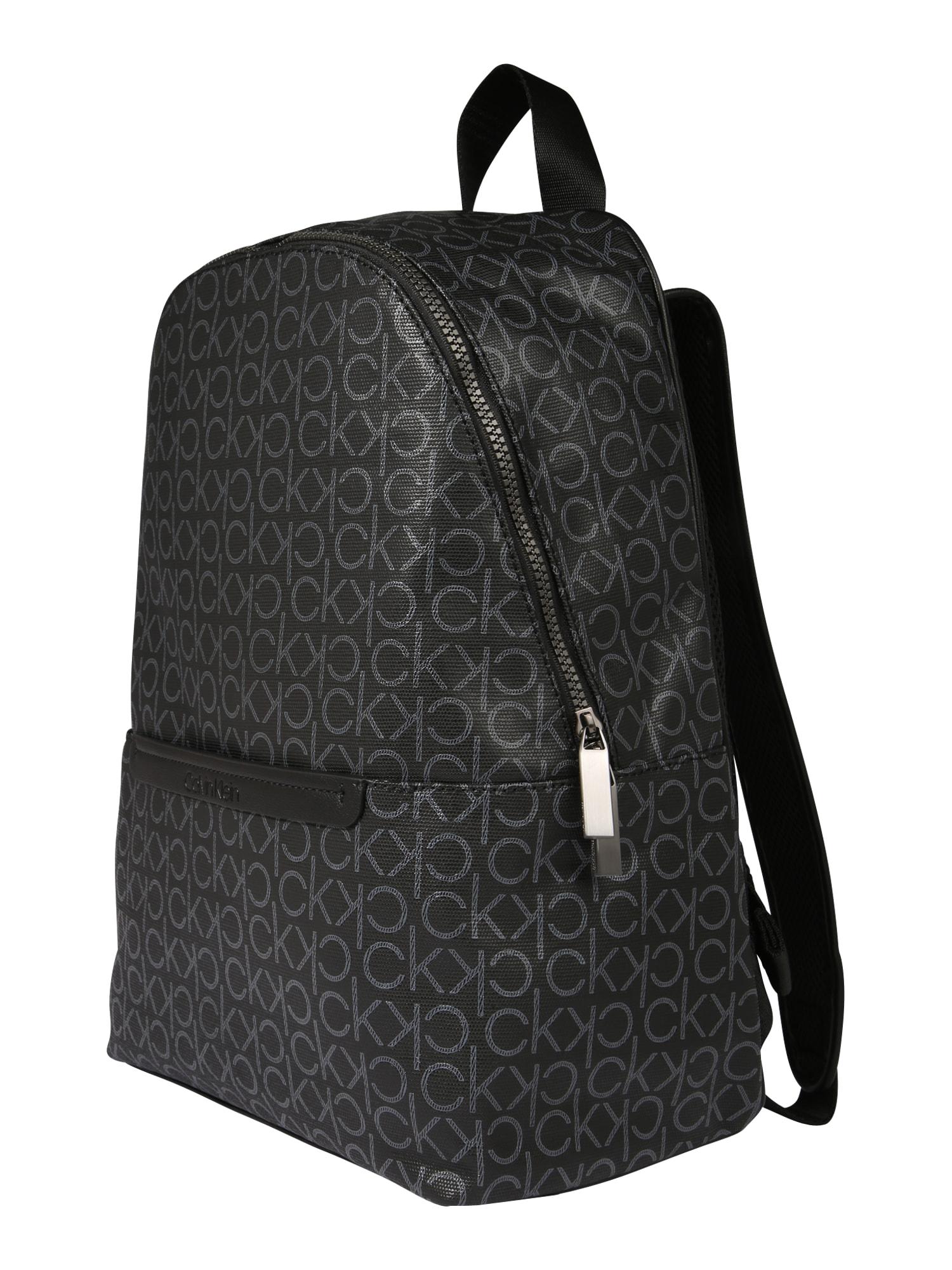 Calvin Klein Kuprinė 'MONO ROUND' juoda