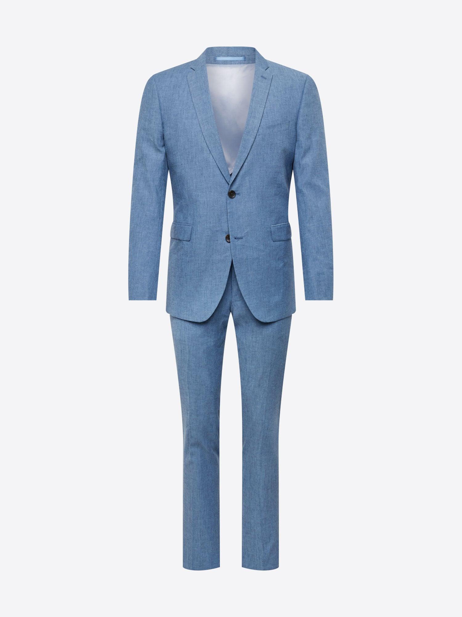 Esprit Collection, Herren Pak Délavé, hemelsblauw