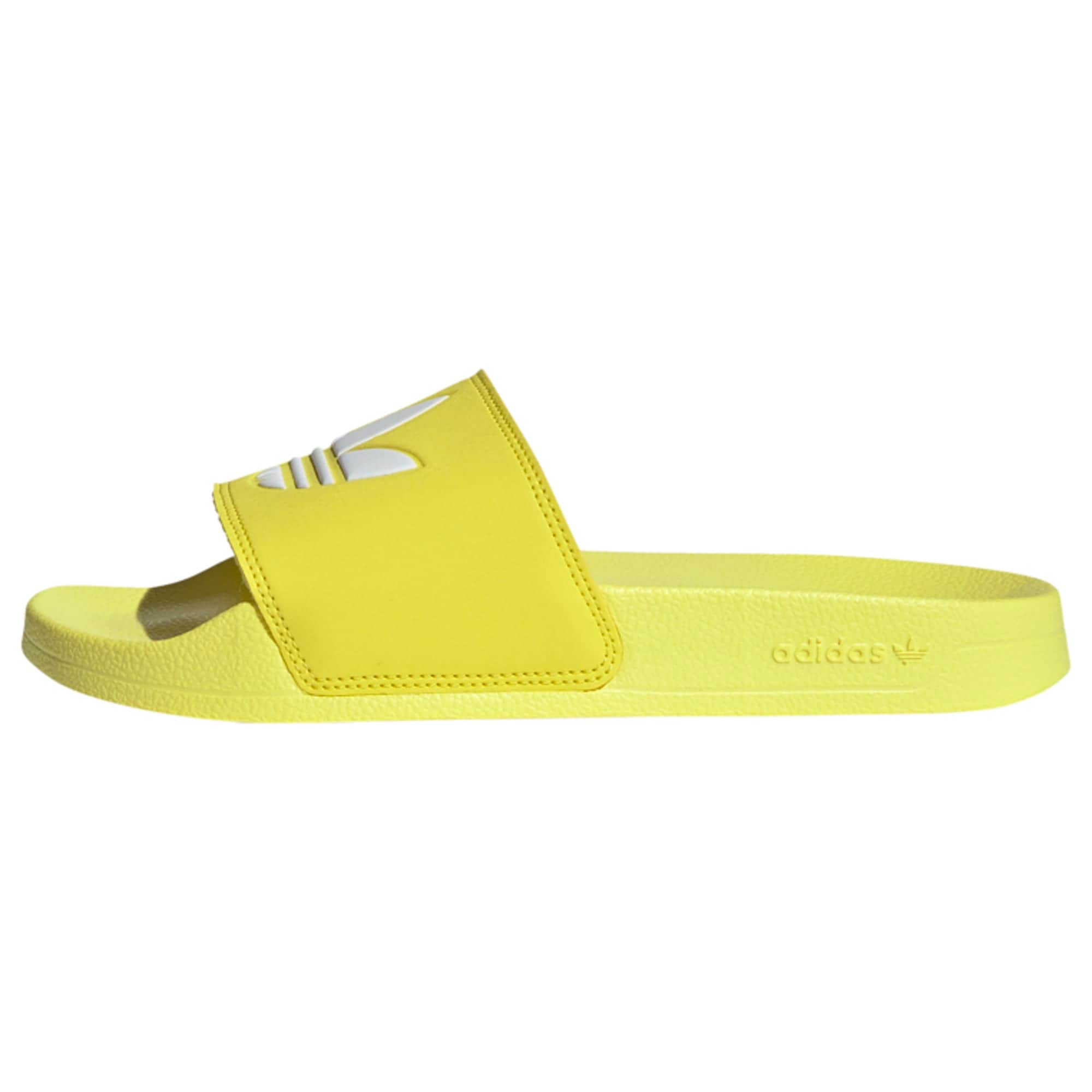 ADIDAS ORIGINALS Sandalai / maudymosi batai balta / geltona