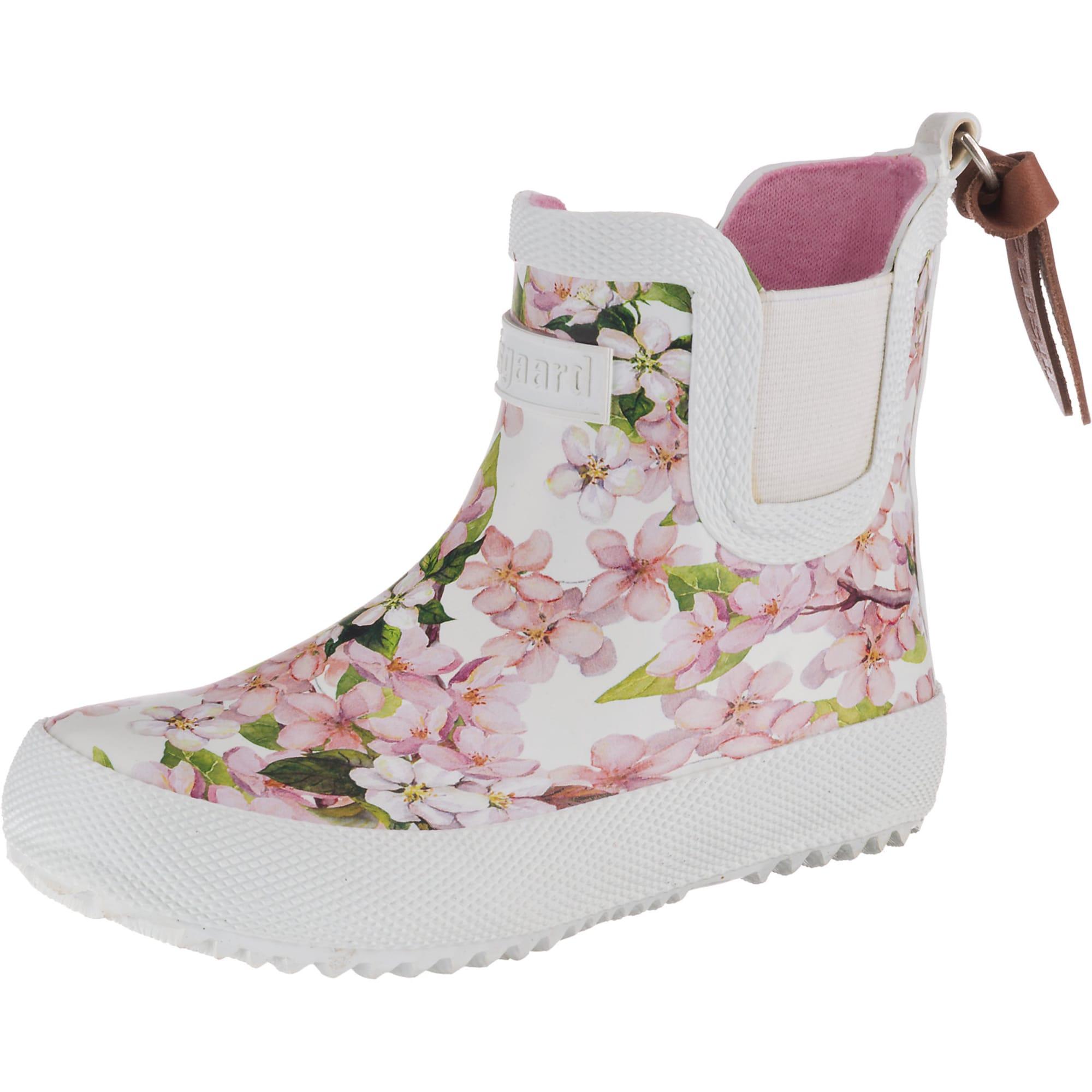 BISGAARD Guminiai batai balta / žalia / rožių spalva
