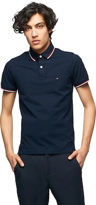TOMMY HILFIGER Poloshirt aus Piqué-Ware 'Tommy Tipped'