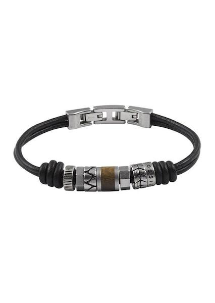 Armbaender für Frauen - FOSSIL Armband dunkelbraun silber  - Onlineshop ABOUT YOU