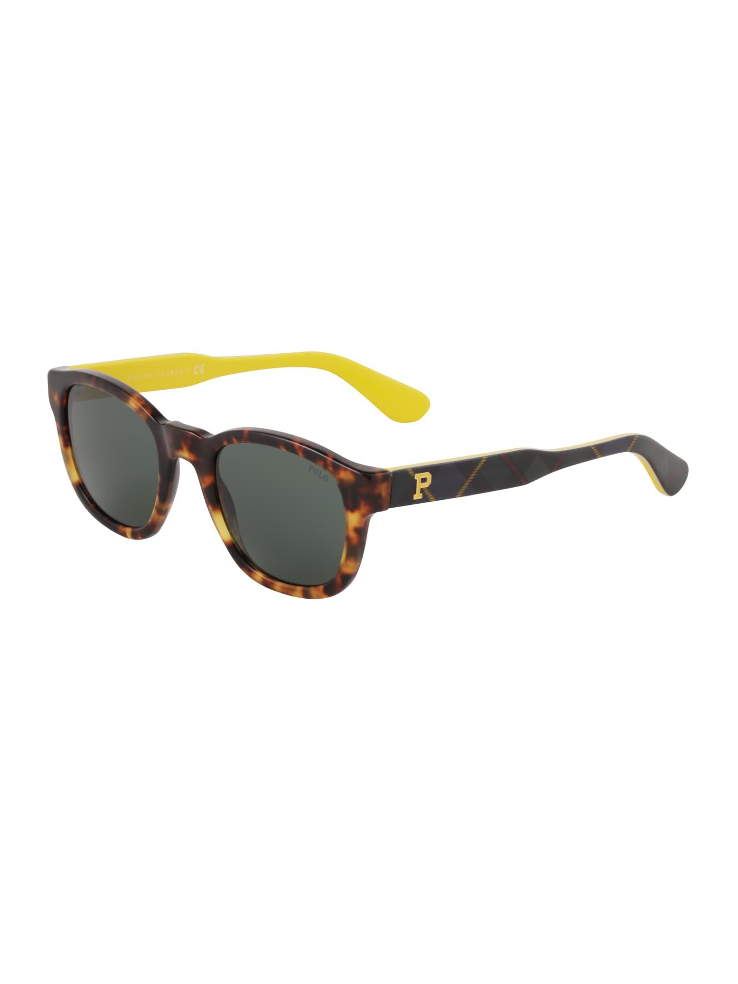 POLO RALPH LAUREN Slnečné okuliare '0PH4159'  hnedé / žlté