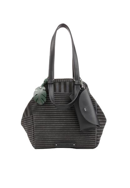 Shopper für Frauen - Fritzi Aus Preußen Shopper 'Venny Arty' dunkelgrau schwarz  - Onlineshop ABOUT YOU