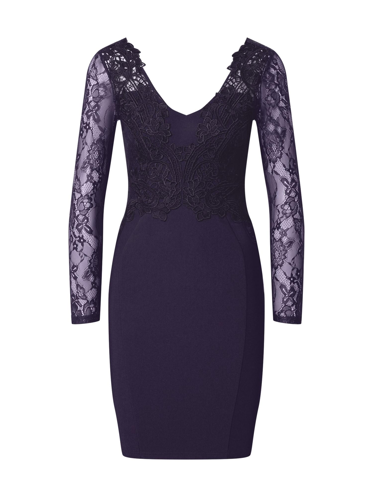 Lipsy Kokteilinė suknelė indigo spalva