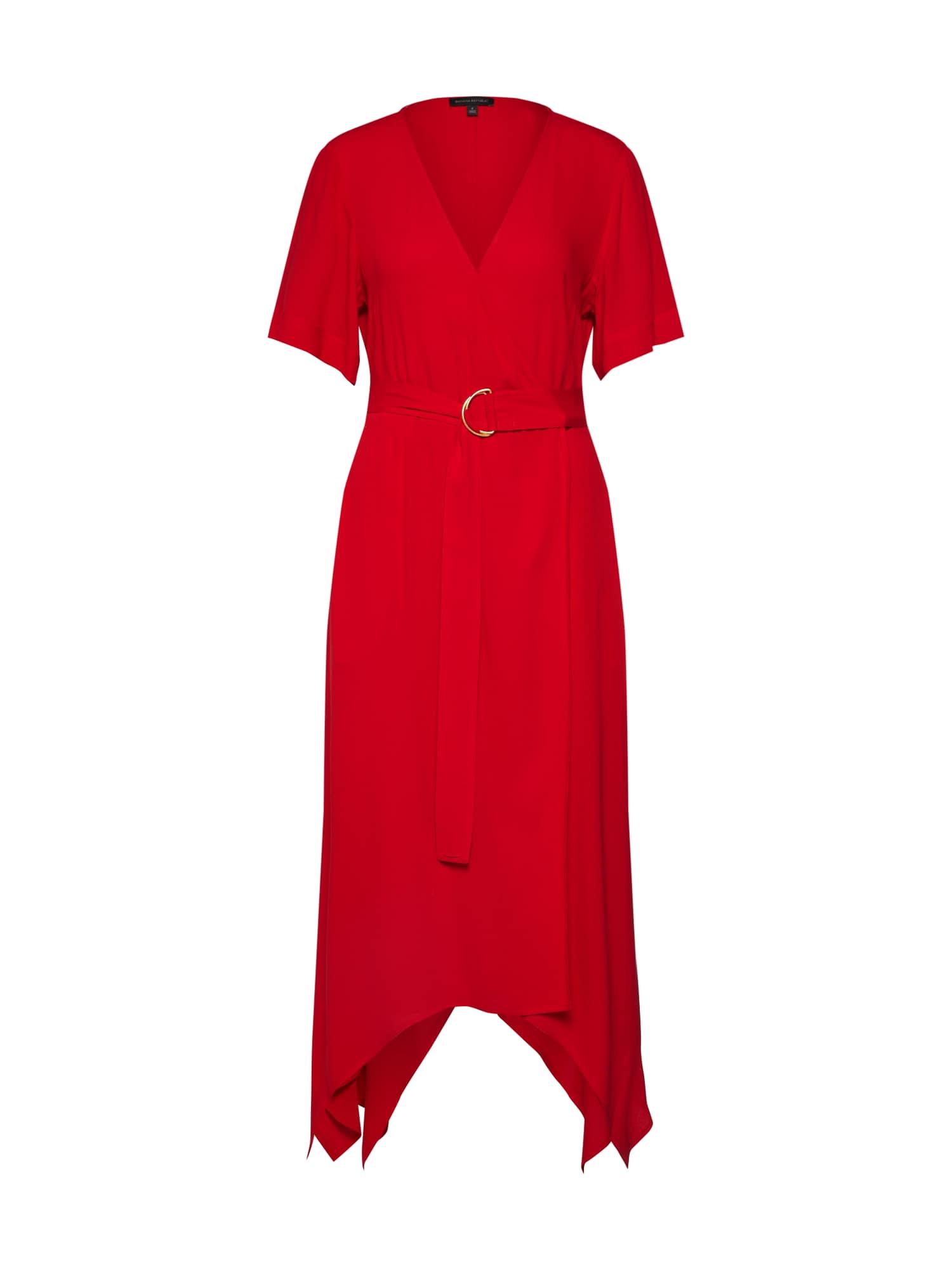 Banana Republic Vakarinė suknelė raudona