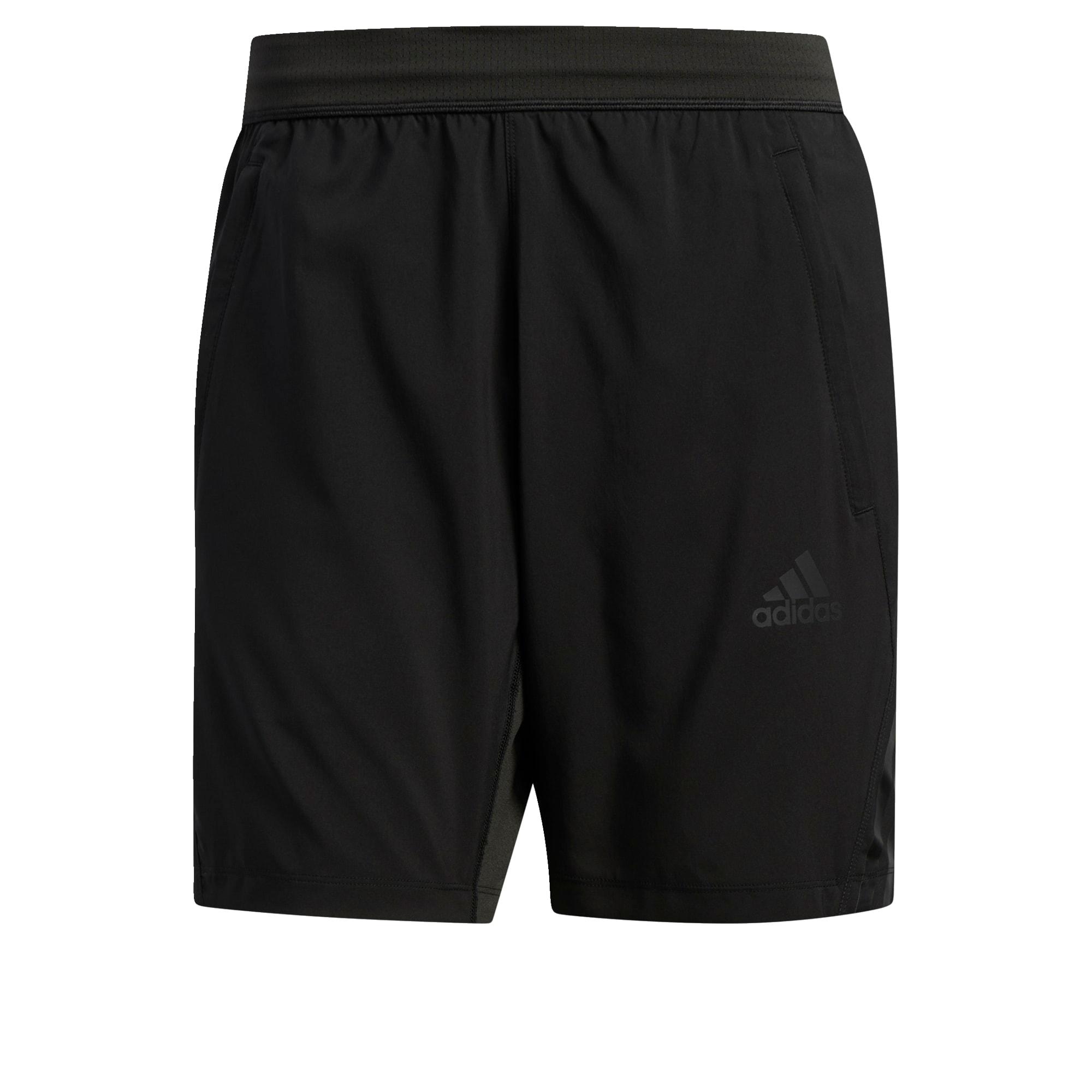 ADIDAS PERFORMANCE Sportinės kelnės tamsiai pilka / juoda