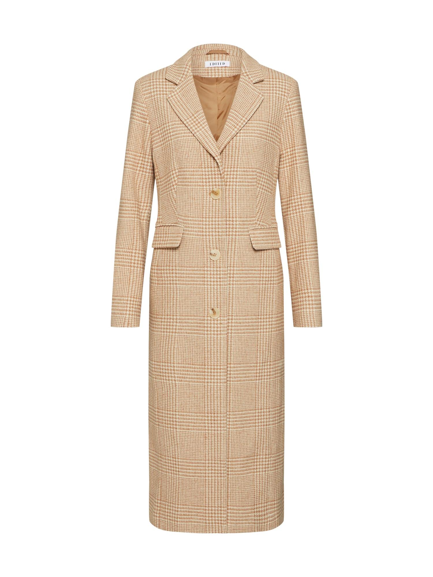 EDITED Rudeninis-žieminis paltas 'Airin' balta / kupranugario