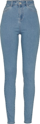 Noisy May 'Nmsky' High Waist Skinny Denim