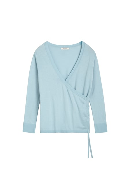 Oberteile für Frauen - Sandwich Pullover hellblau  - Onlineshop ABOUT YOU