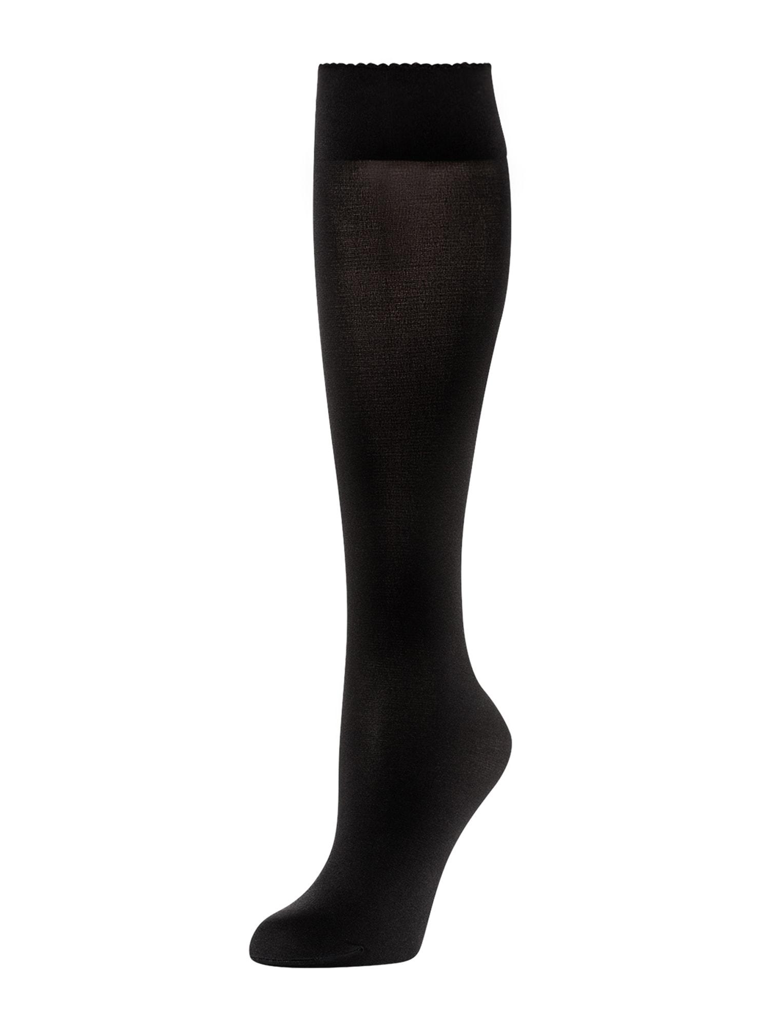 Wolford Ponožky 'Velvet de Luxe 50'  čierna