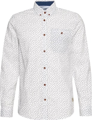 TOM TAILOR Hemd'Ray cool printed slub shirt'