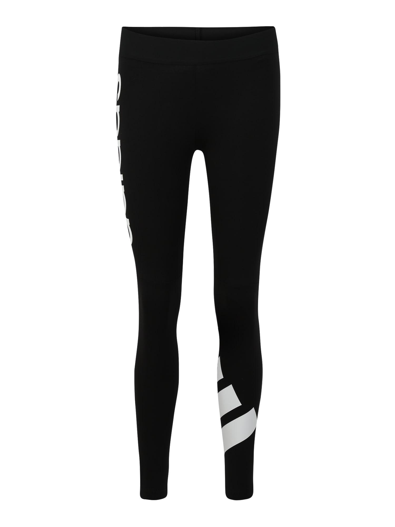 ADIDAS PERFORMANCE Sportinės kelnės 'W 2CB 78' balta / juoda