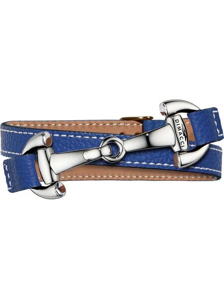 Armbaender für Frauen - Dimacci Armband 'Alba' blau silber  - Onlineshop ABOUT YOU