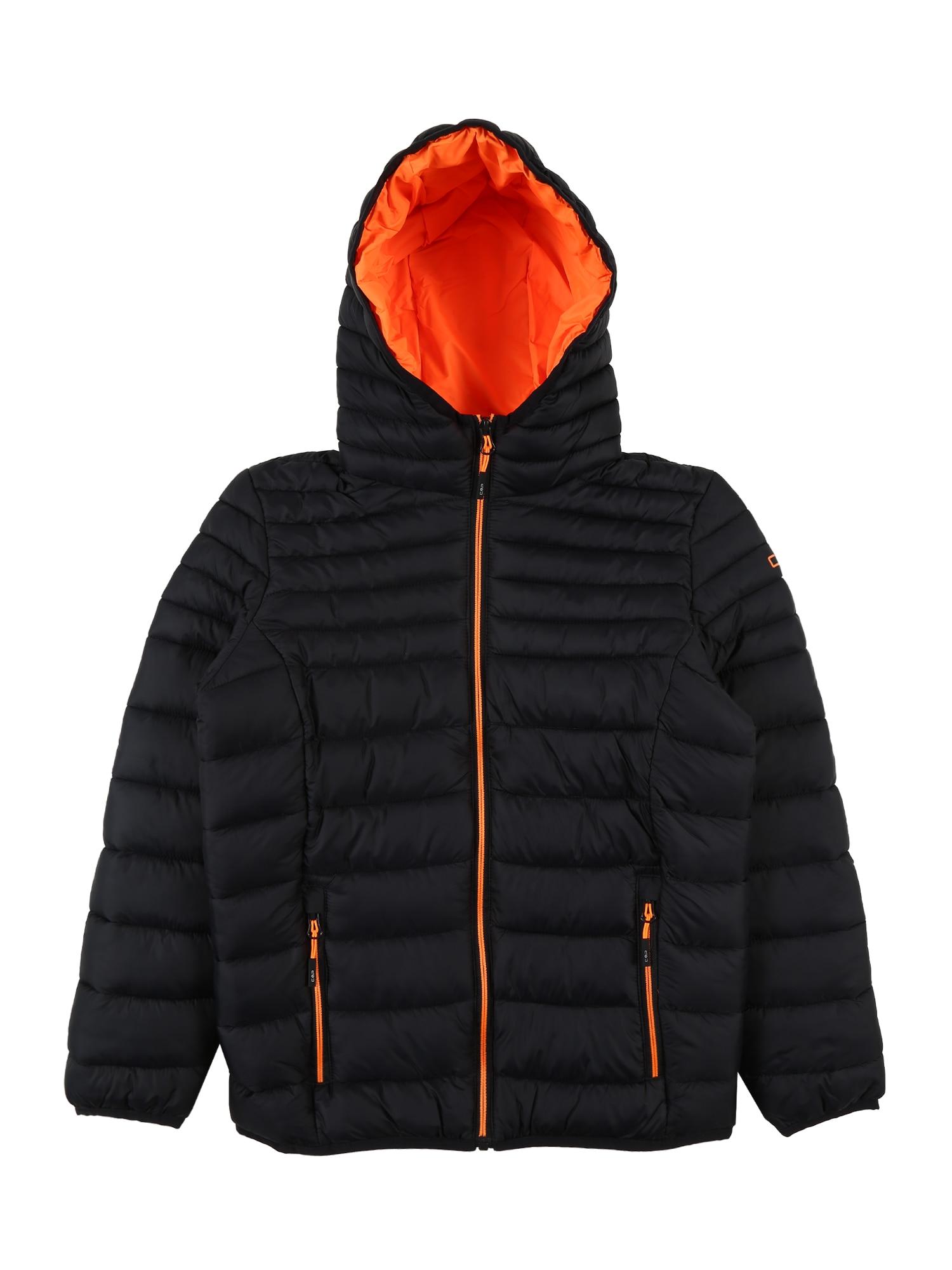 CMP Sportovní bunda  antracitová / oranžová