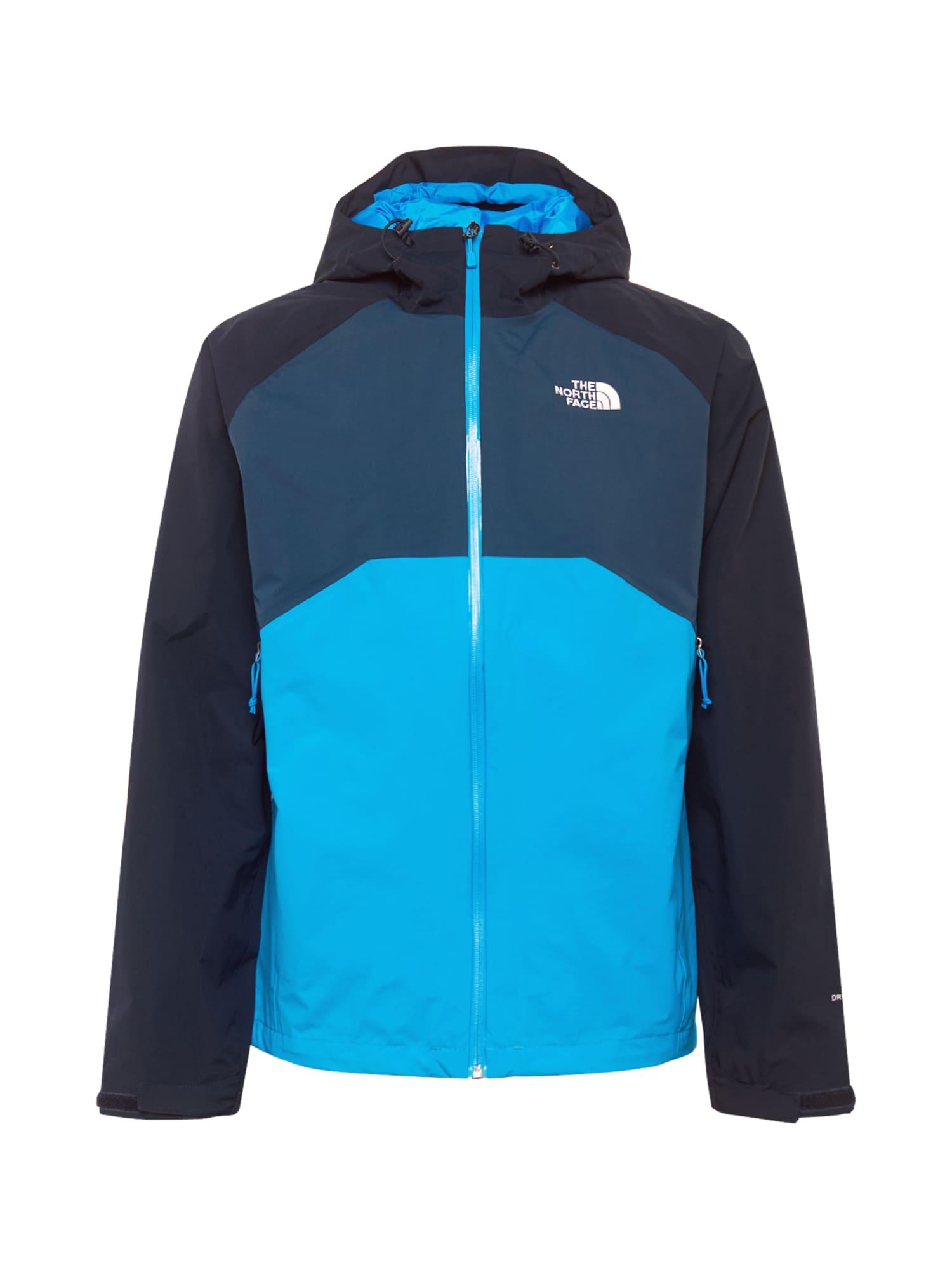 THE NORTH FACE Športová bunda 'Stratos'  tmavomodrá / modrá / svetlomodrá