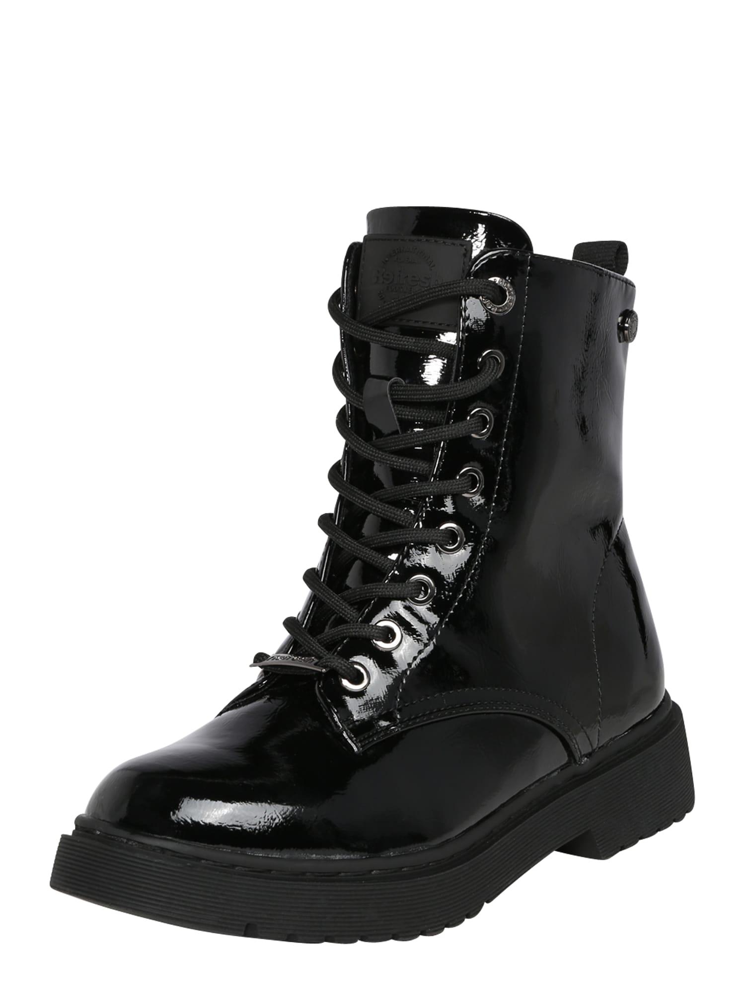 Refresh Suvarstomieji kulkšnis dengiantys batai juoda